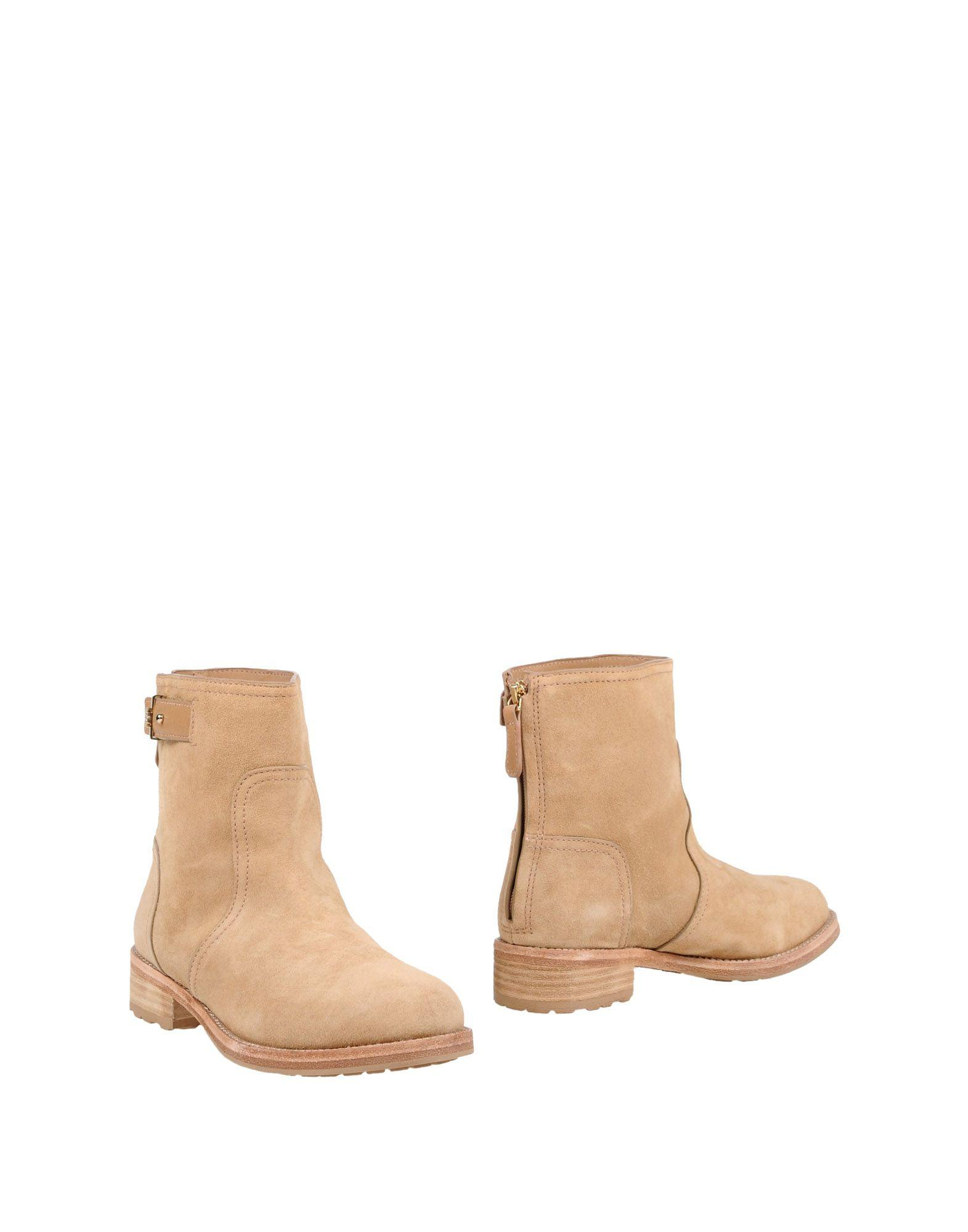 Tory Burch Ankle Boots In Camel
