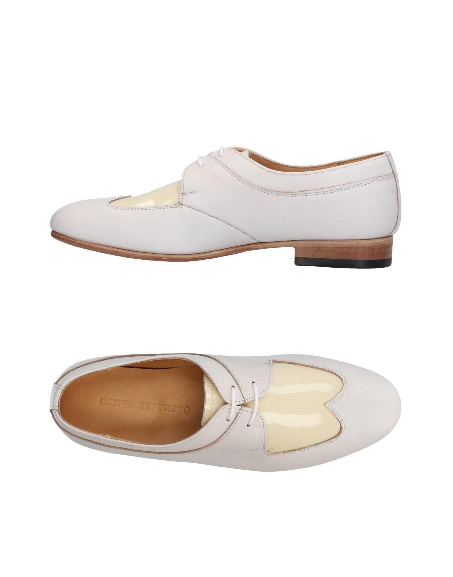 Dieppa Restrepo Lace-up Shoes In Ivory