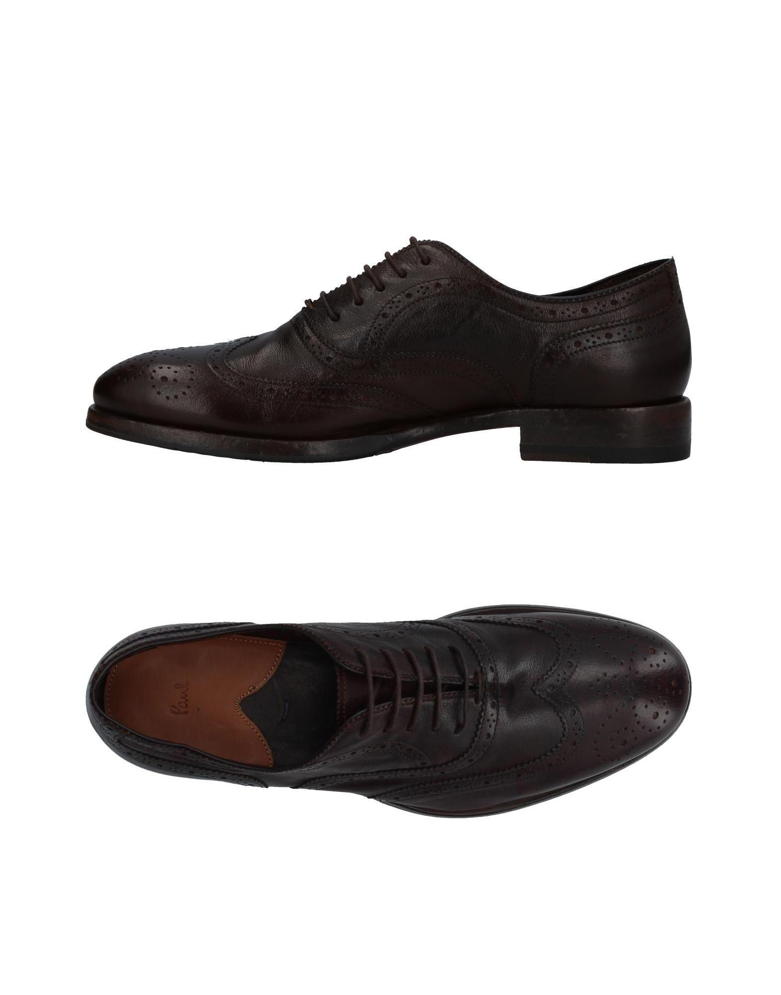 Paul Smith Lace-up Shoes In Dark Brown