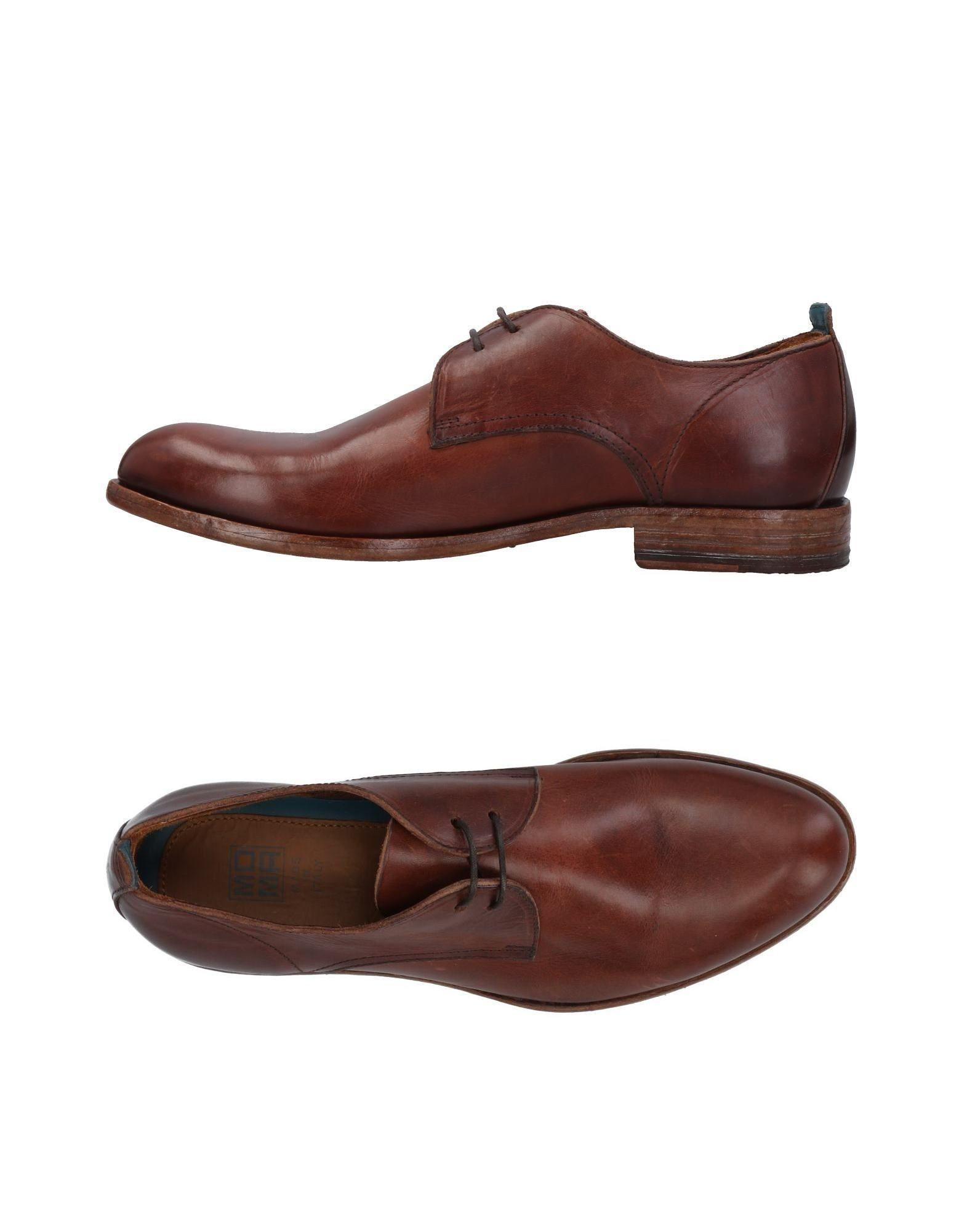 Moma Lace-up Shoes In Dark Brown