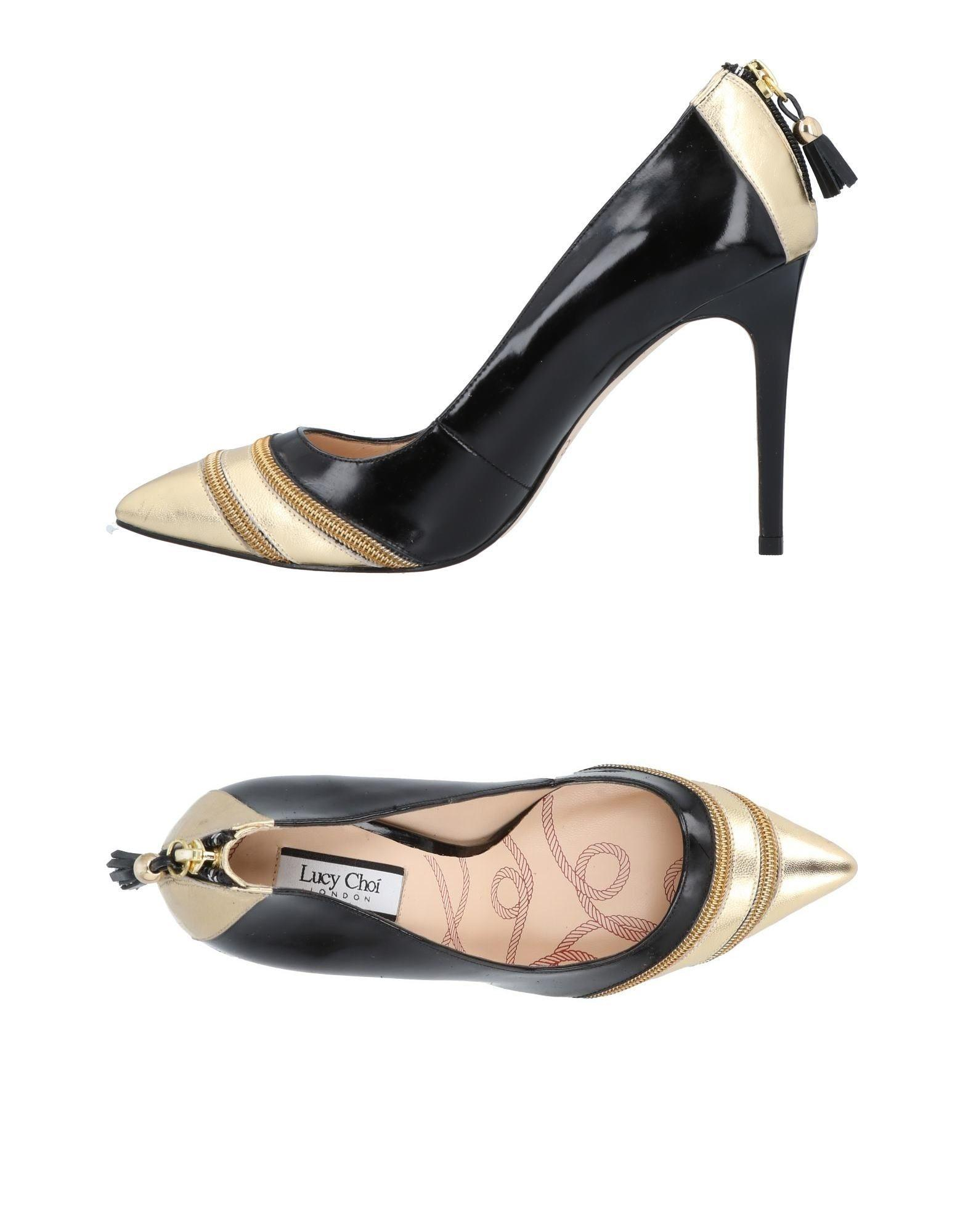 Lucy Choi London Pumps In Black