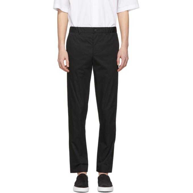 Stephan Schneider Black Edge Trousers In Night