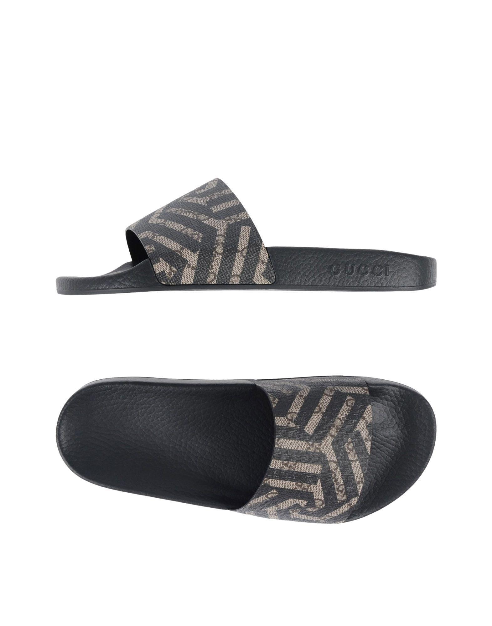 Gucci Sandals In Black