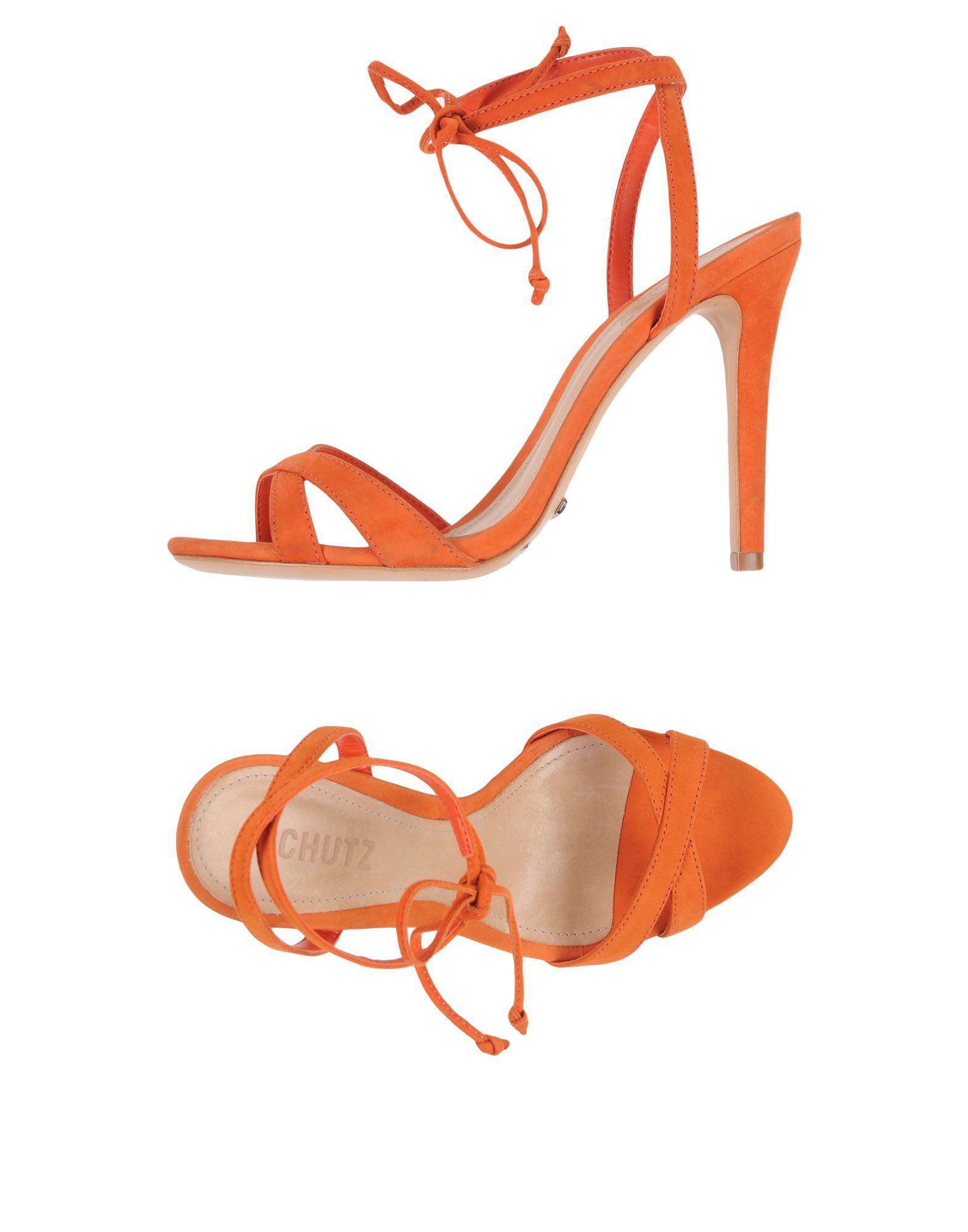 Schutz Sandals In Rust