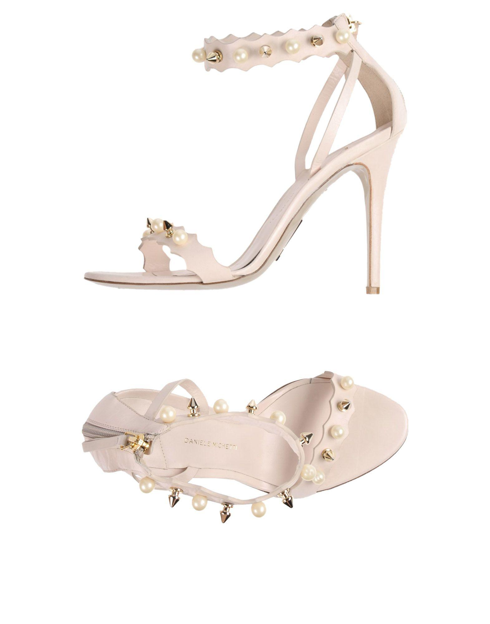 Daniele Michetti Sandals In Beige