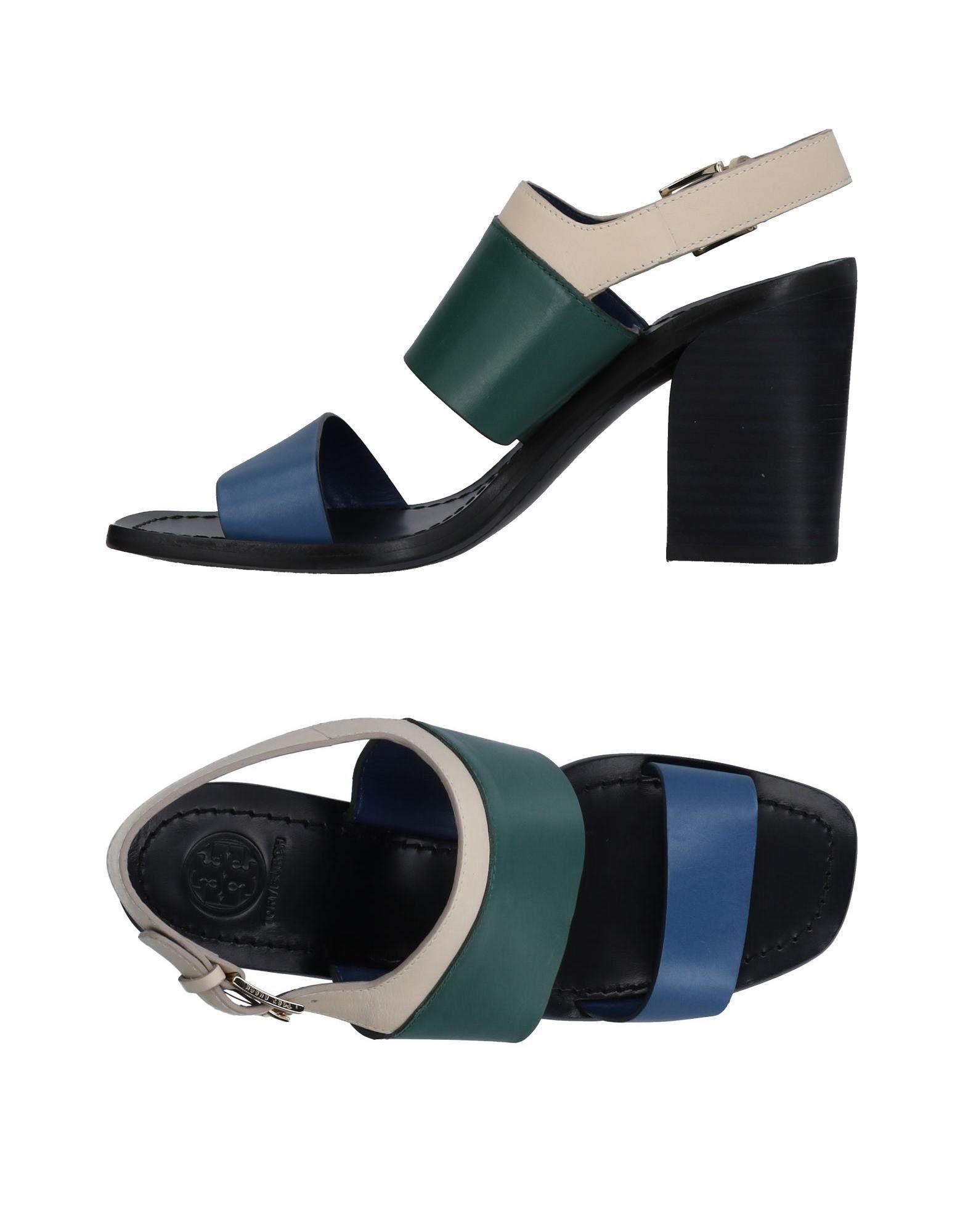 Tory Burch Sandals In Blue