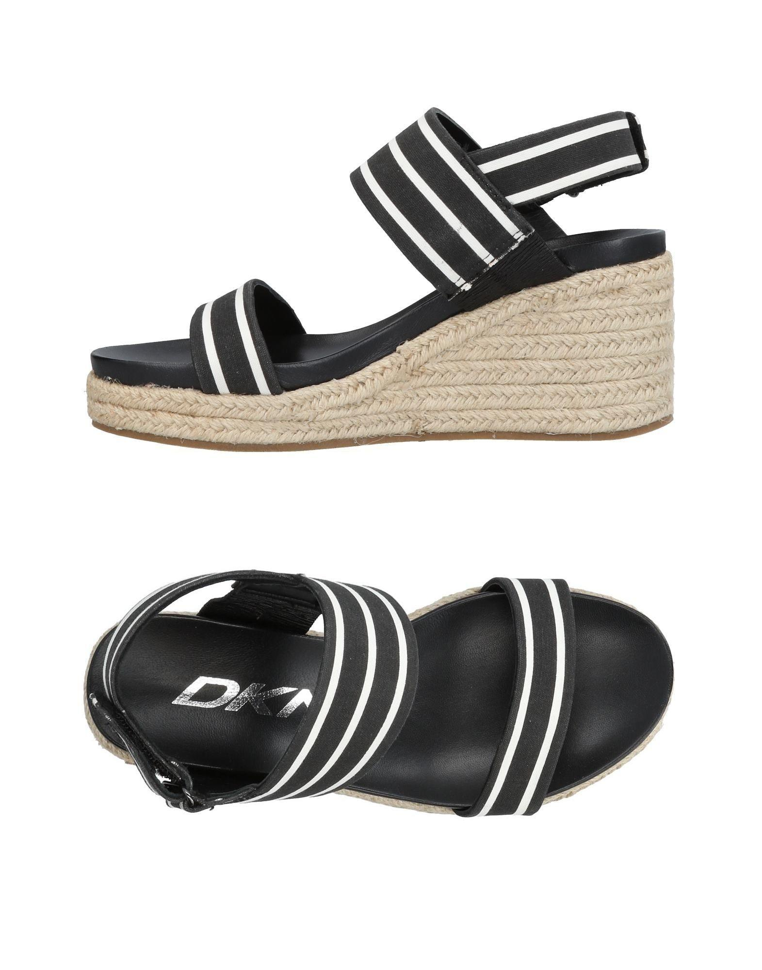 Dkny Sandals In Black