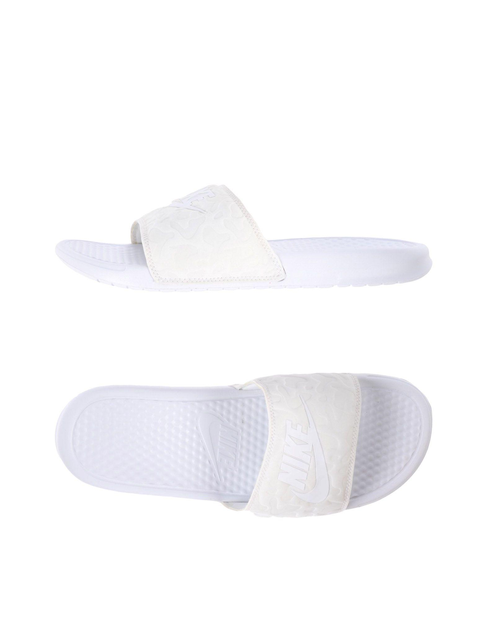 Nike Sandals In Ivory
