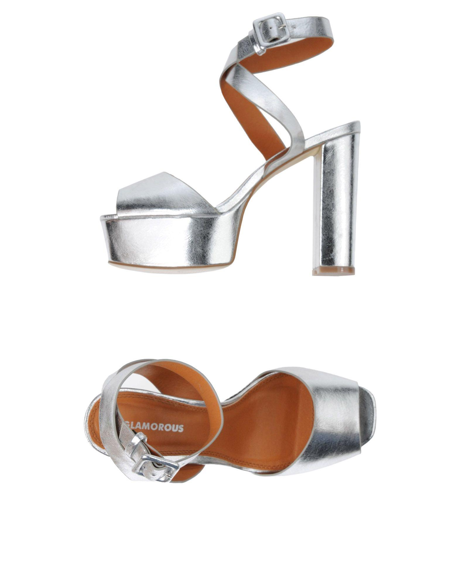 Glamorous Sandals In Silver