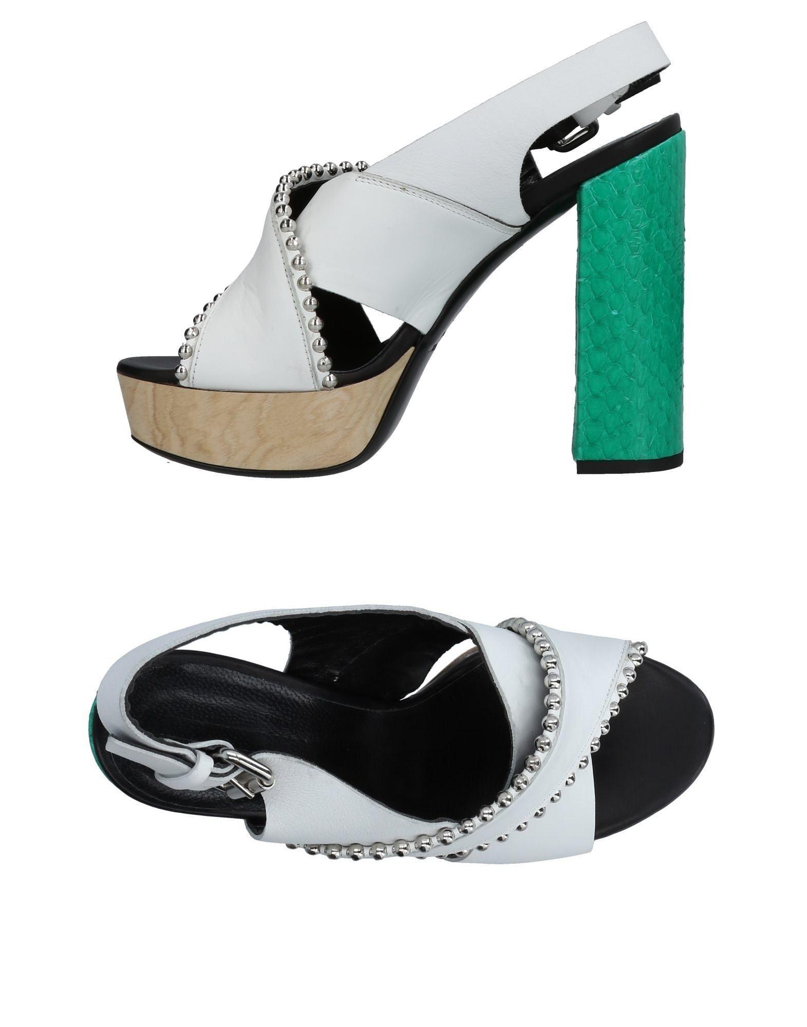 Mcq By Alexander Mcqueen Sandals In White