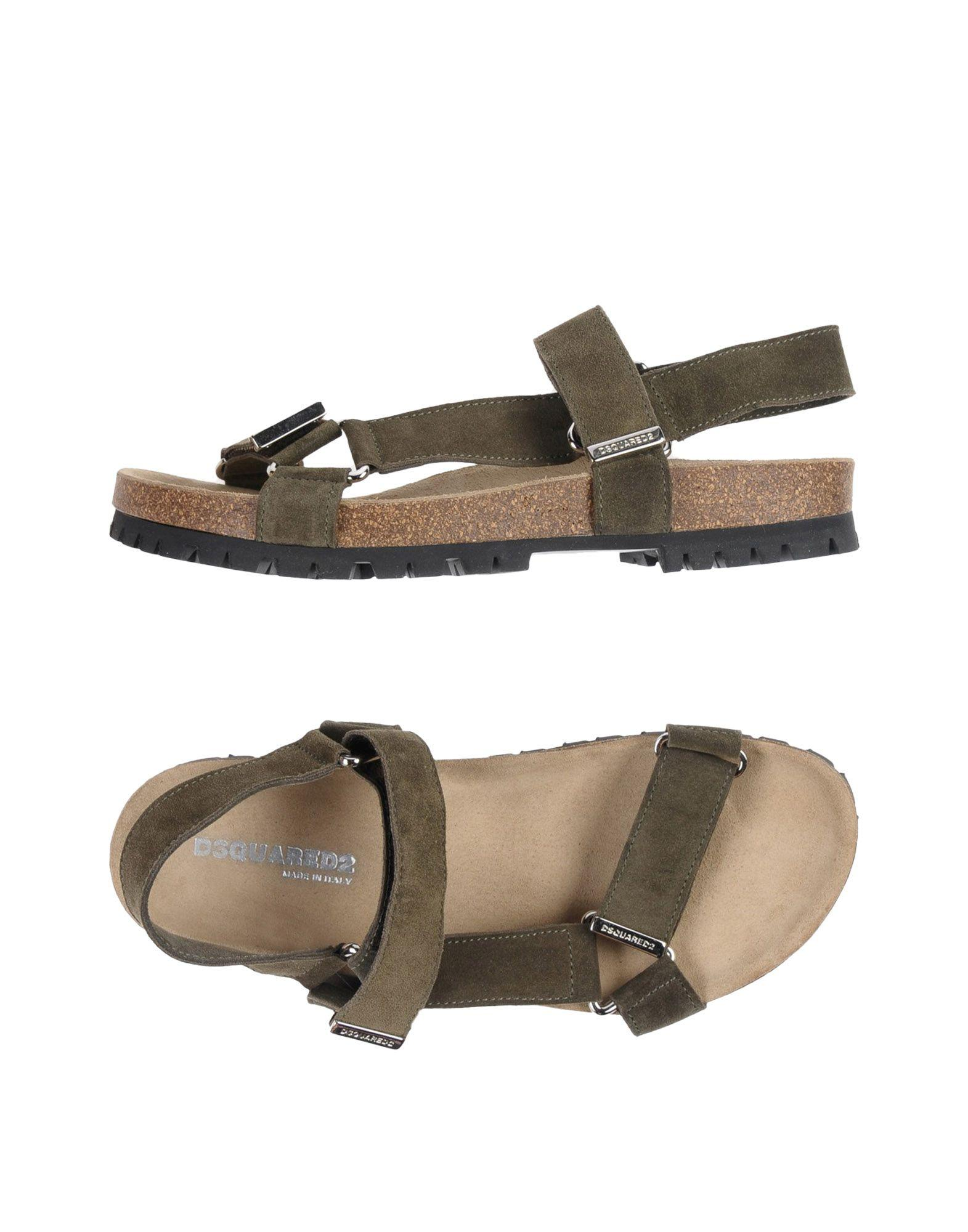 Dsquared2 Sandals In Military Green