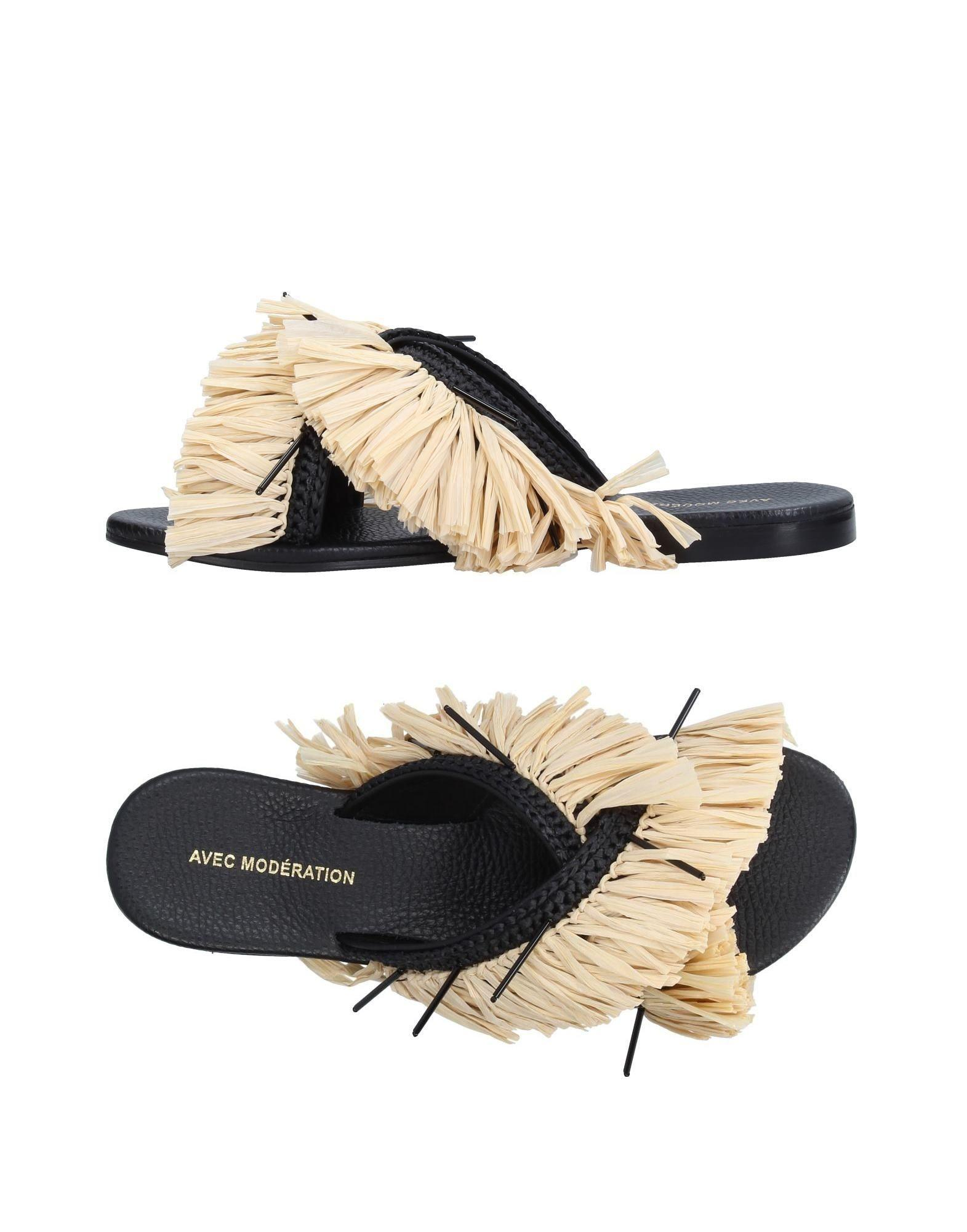 Avec ModÉration Sandals In Beige