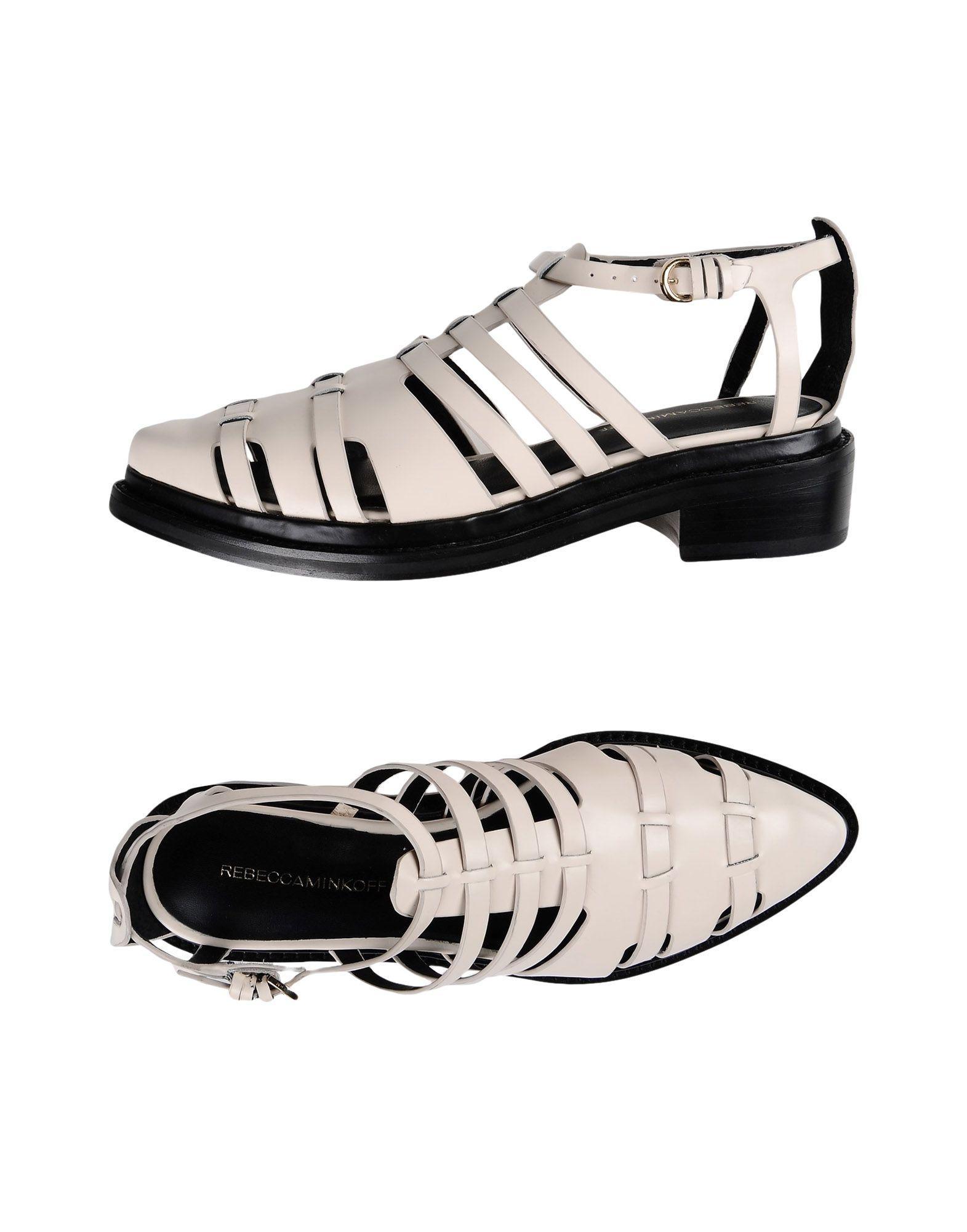 Rebecca Minkoff Sandals In Beige