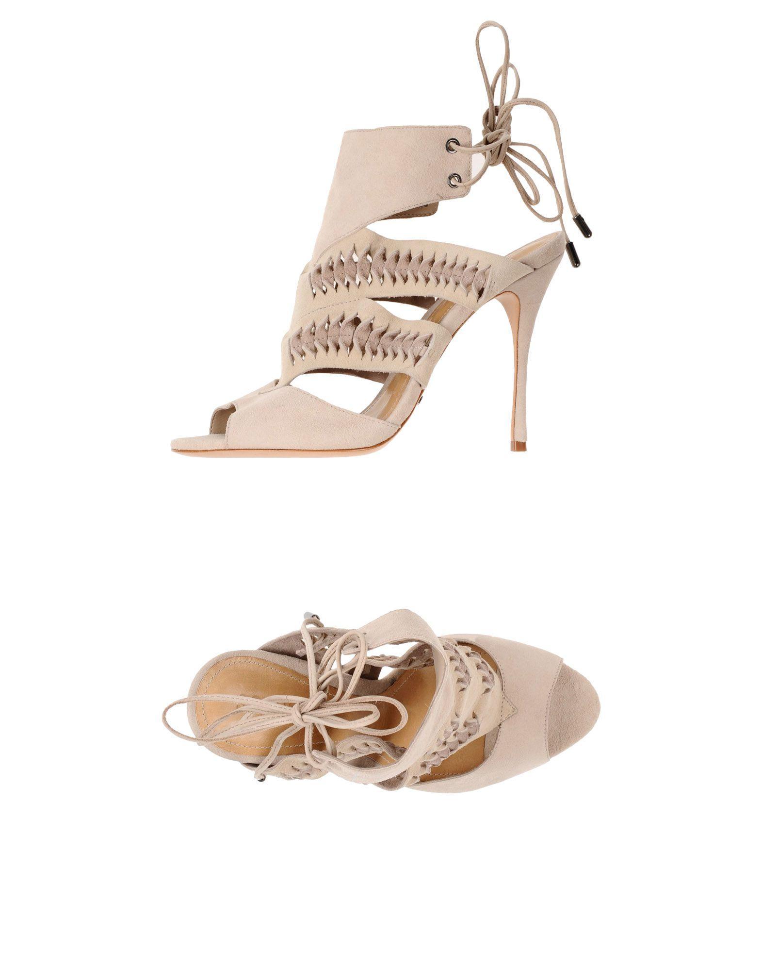 Schutz Sandals In Light Grey
