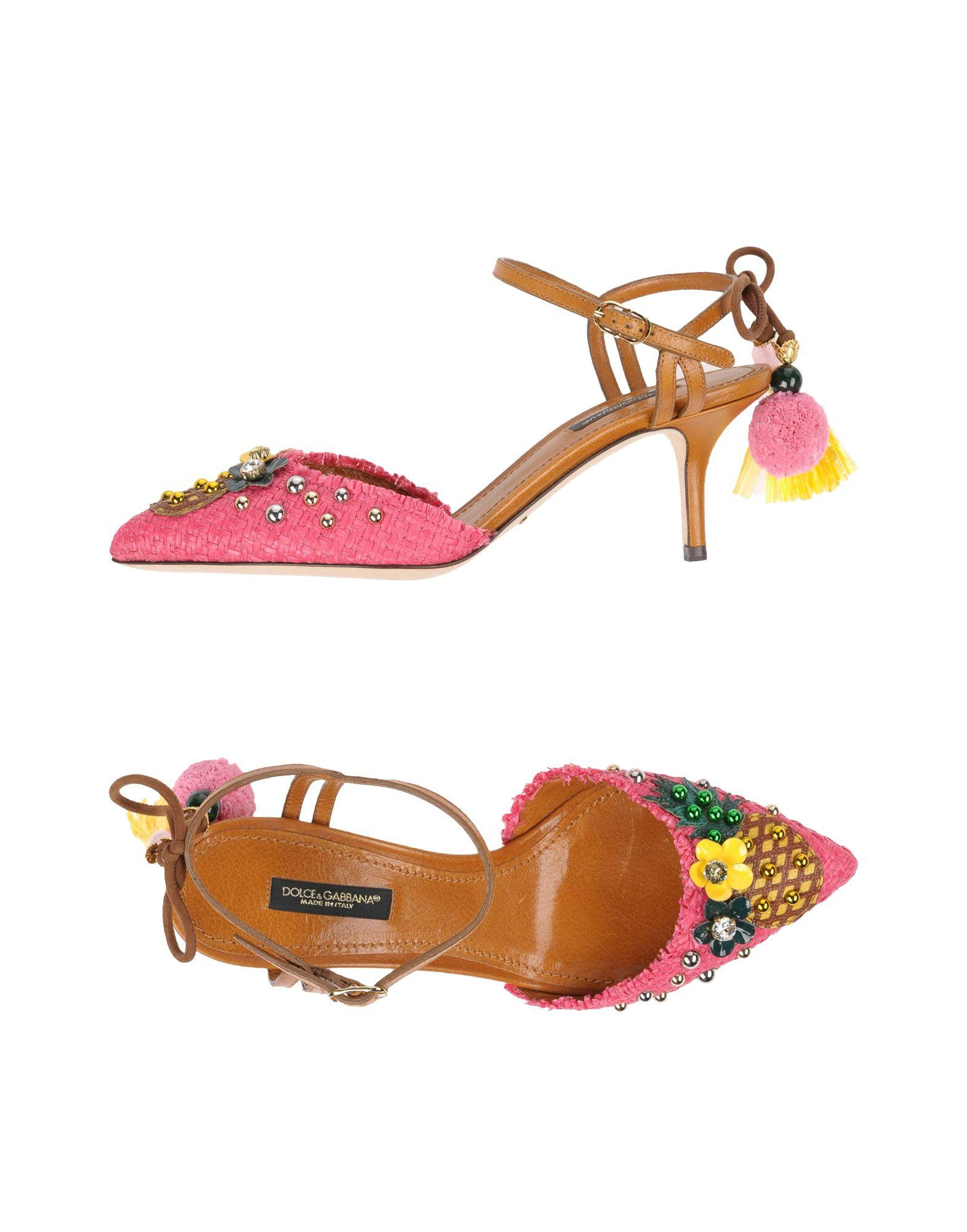 Dolce & Gabbana Pump In Pink