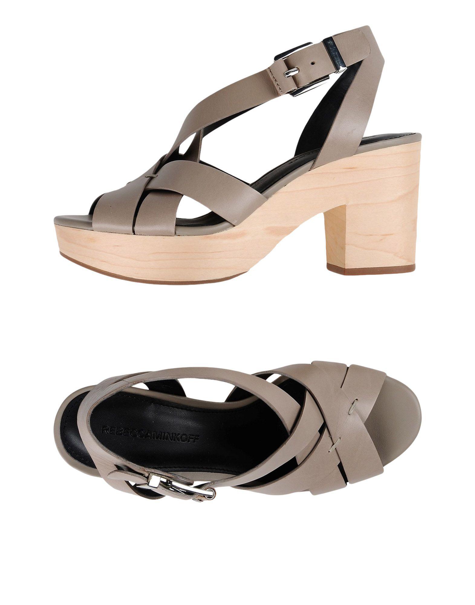 Rebecca Minkoff Sandals In Grey