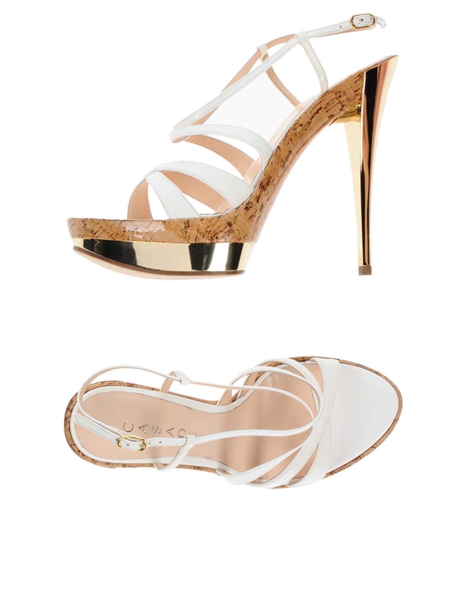 Casadei Sandals In White