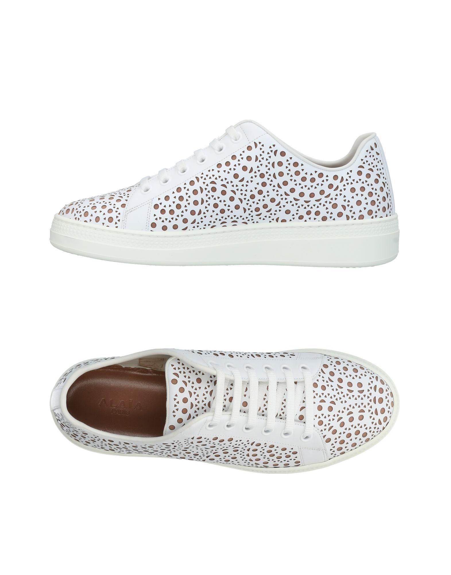 AlaÏa Sneakers In White