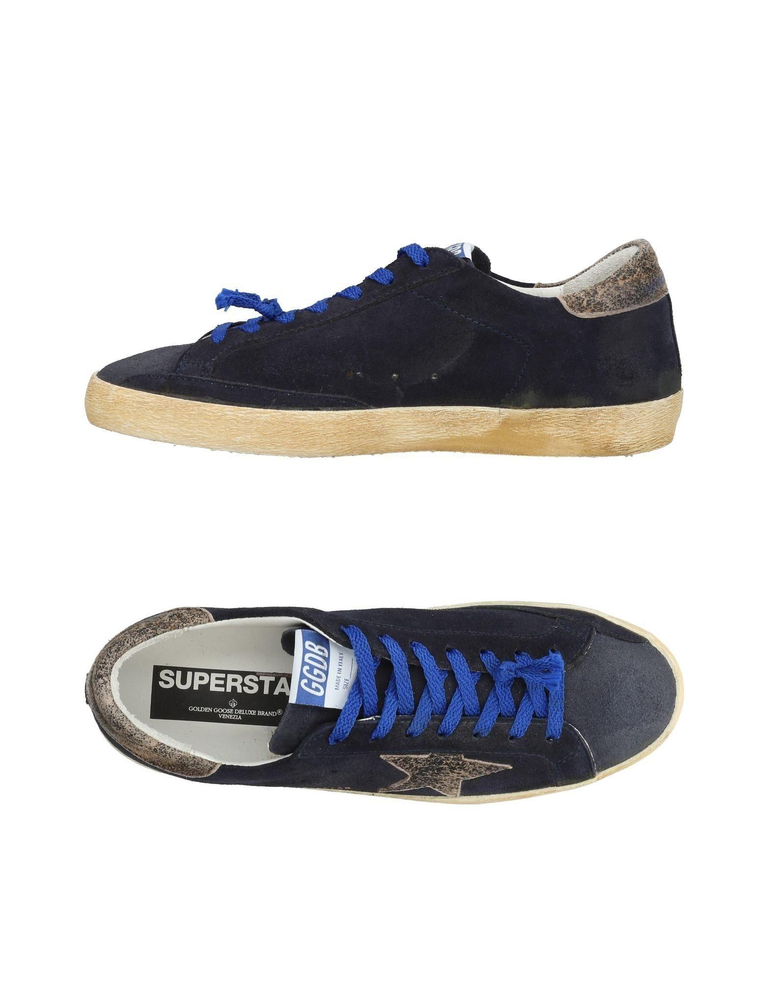 Golden Goose Sneakers In Dark Blue