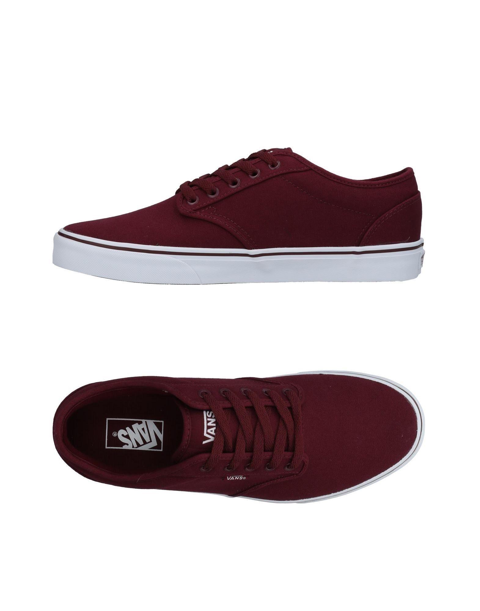 Vans Sneakers In Maroon