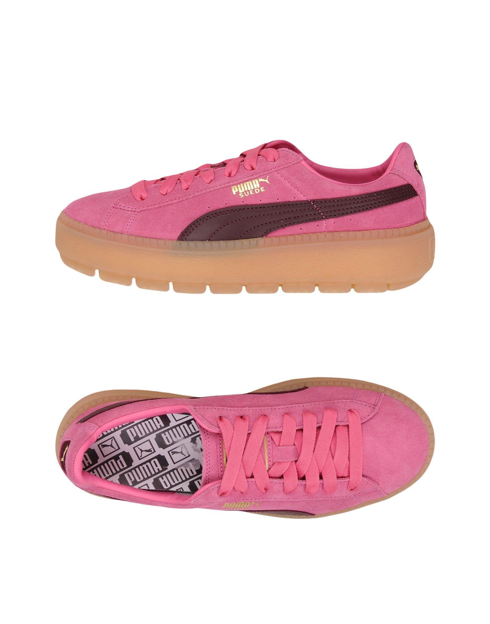 Puma Sneakers In Fuchsia