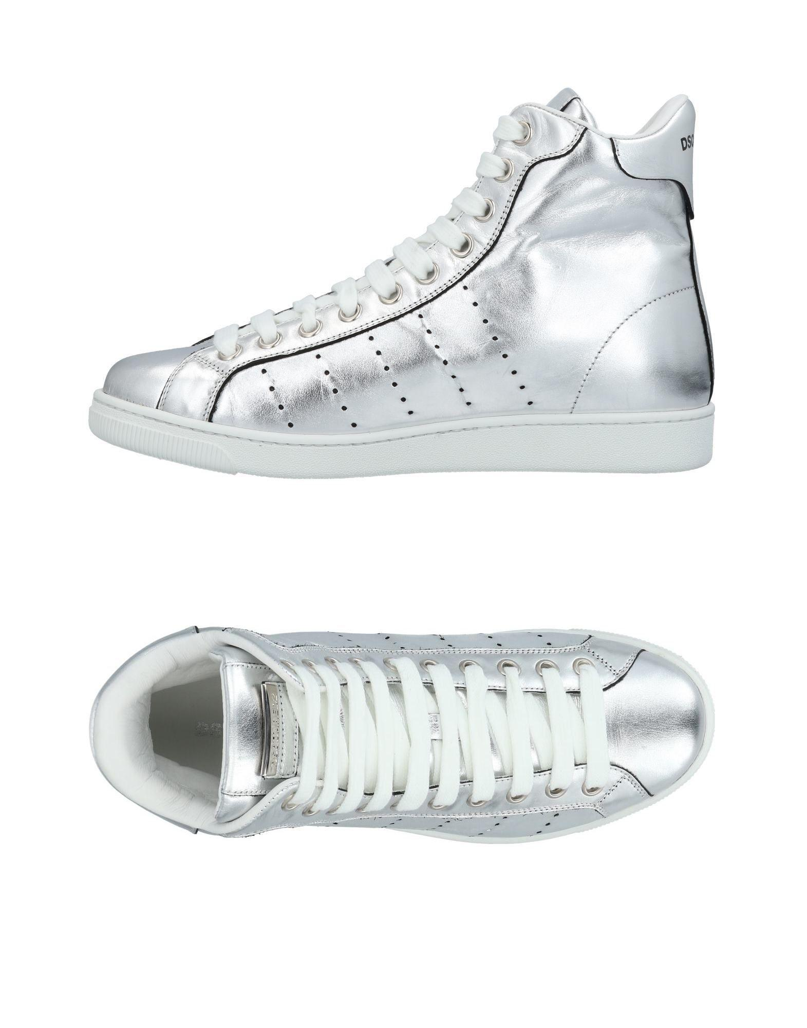 Dsquared2 Sneakers In Silver