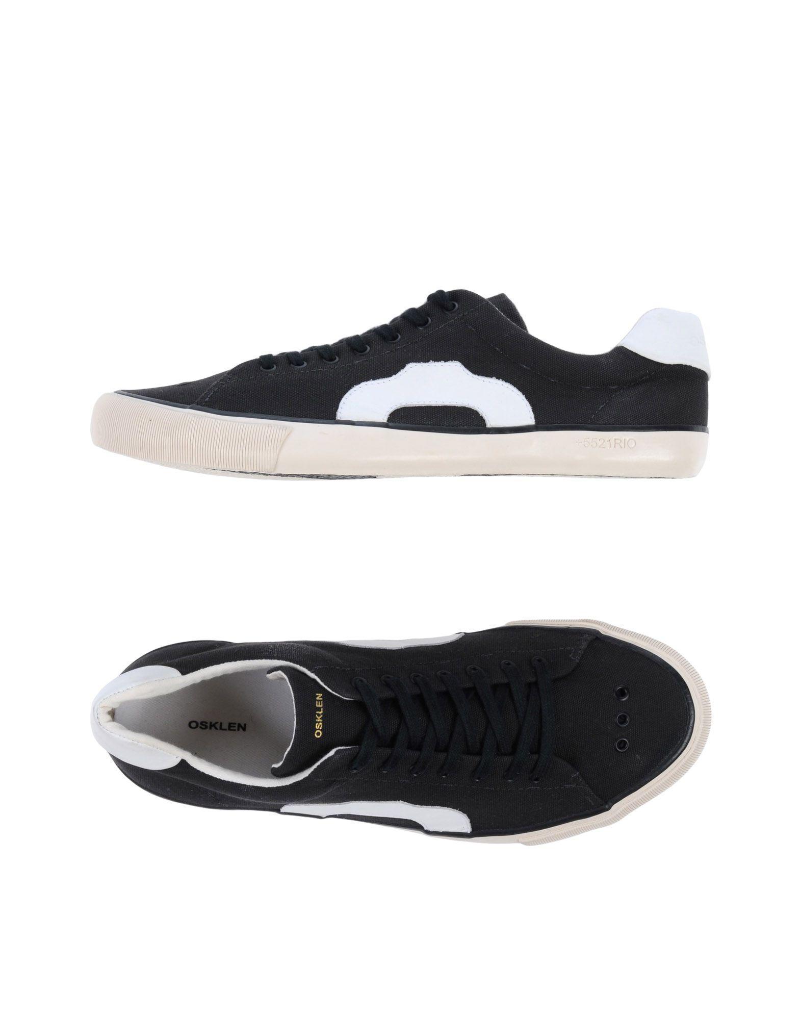 Osklen Sneakers In Steel Grey
