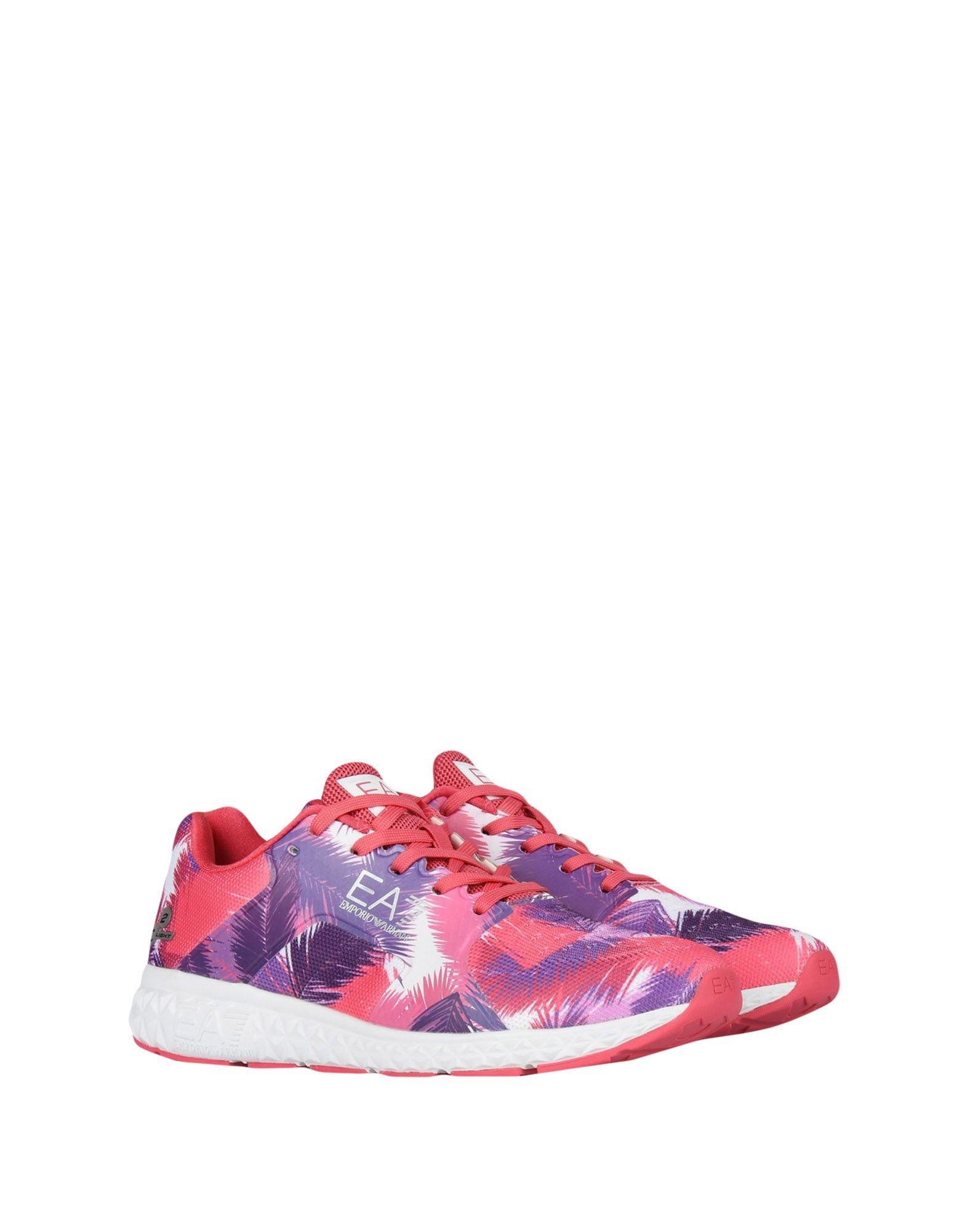 Ea7 Sneakers In Pink