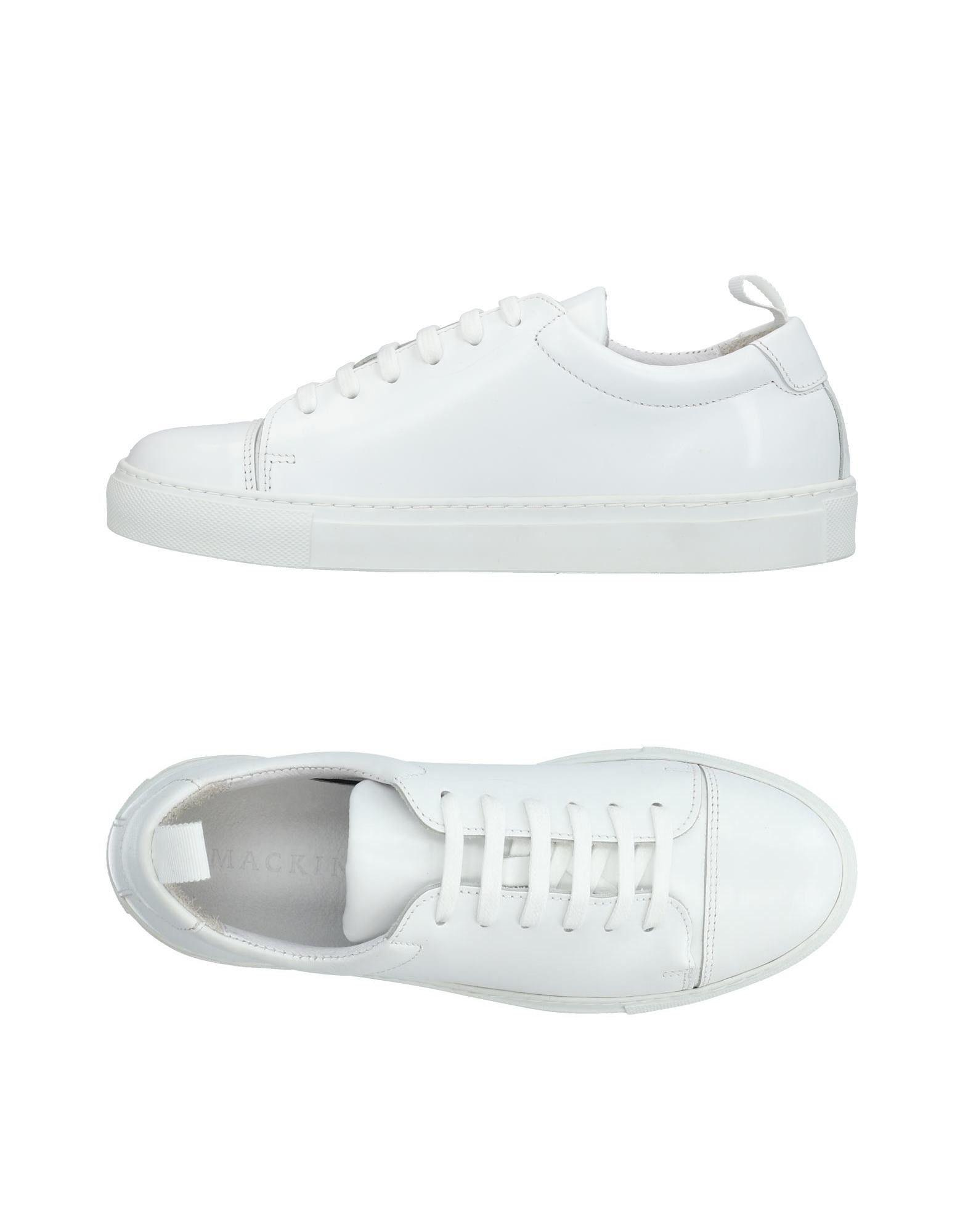 Mackintosh Sneakers In White