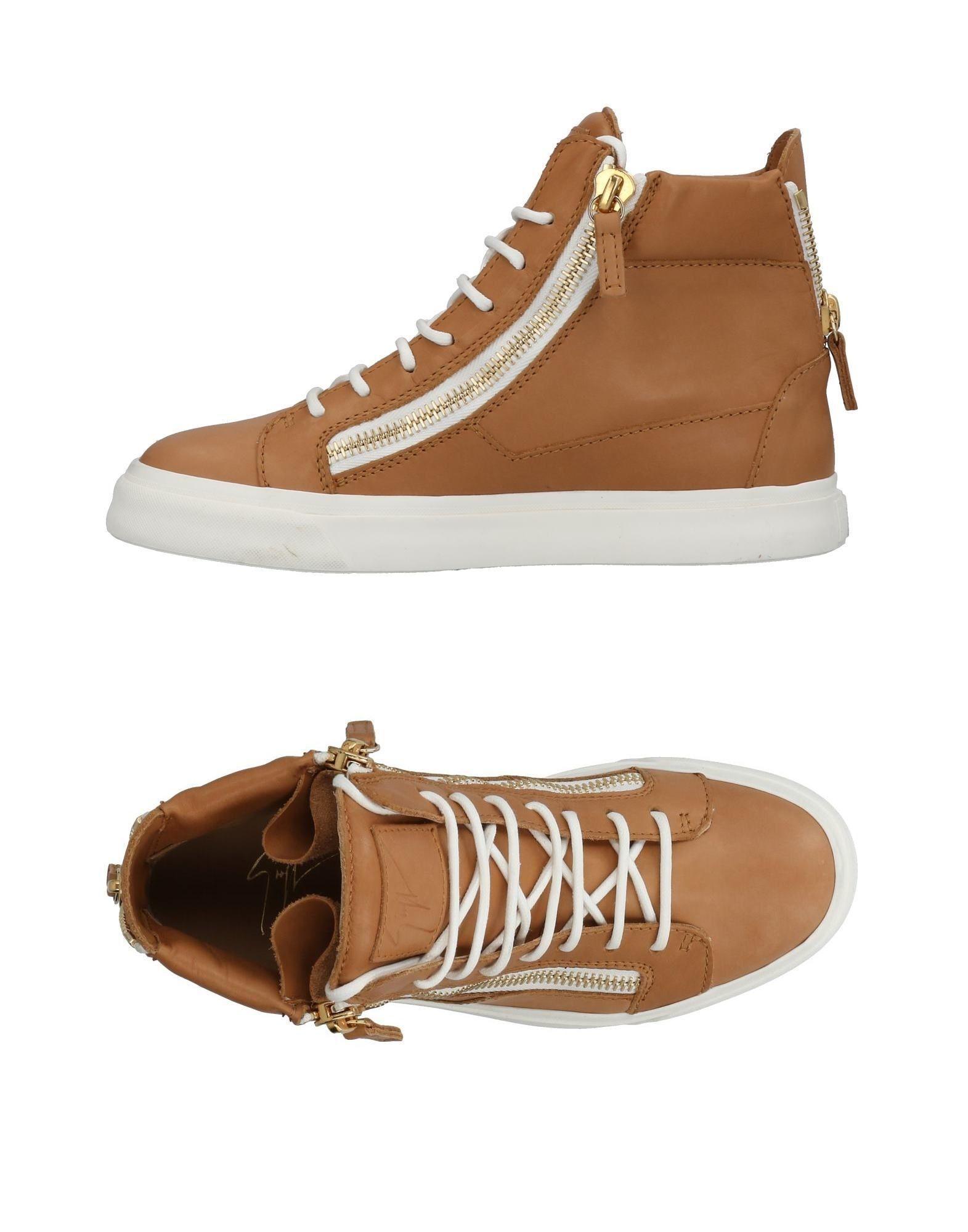 Giuseppe Zanotti Sneakers In Sand