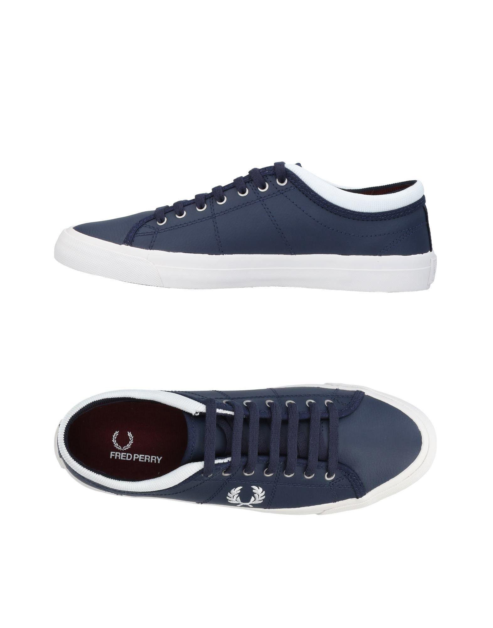 Fred Perry Sneakers In Dark Blue
