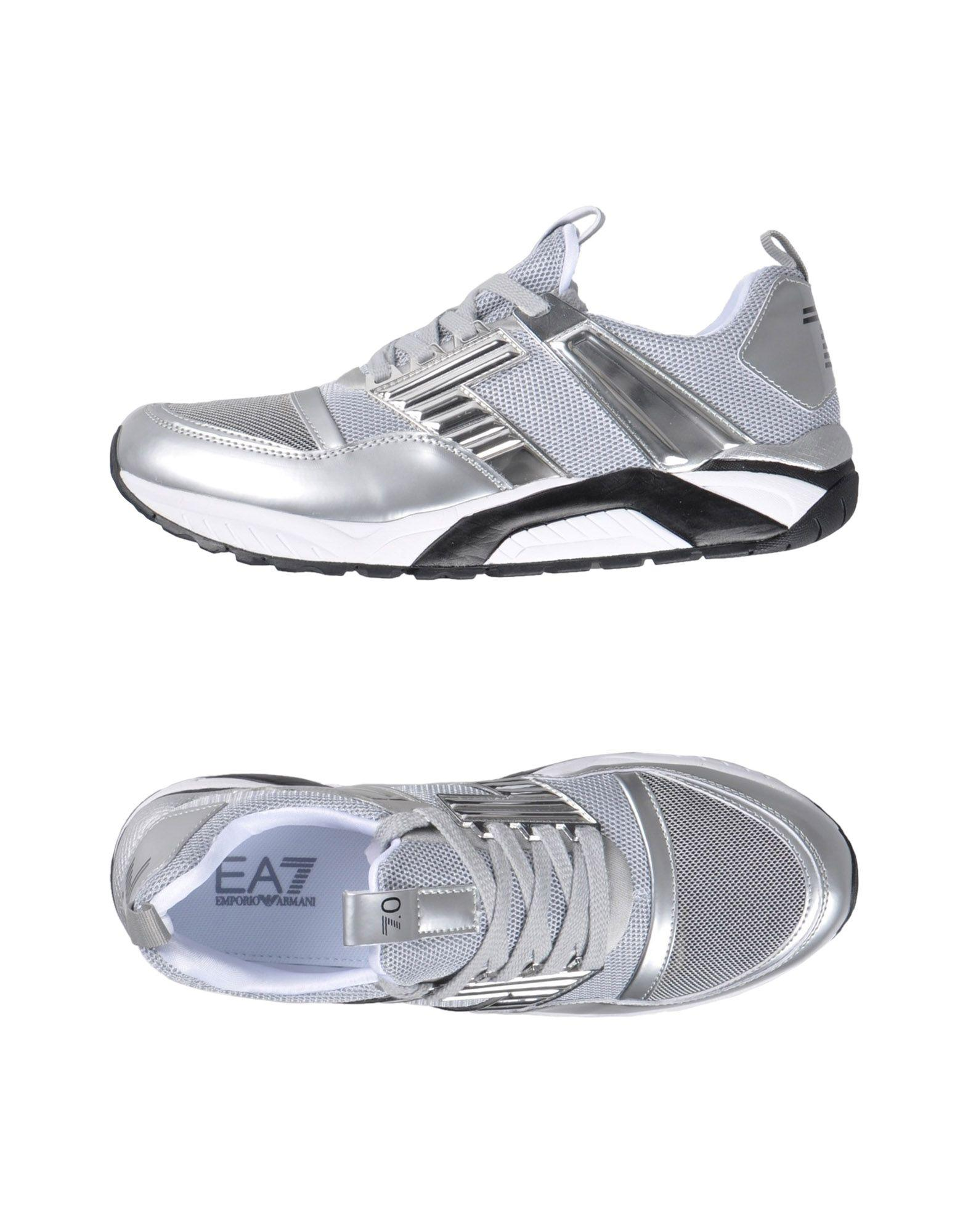 Ea7 Sneakers In Light Grey