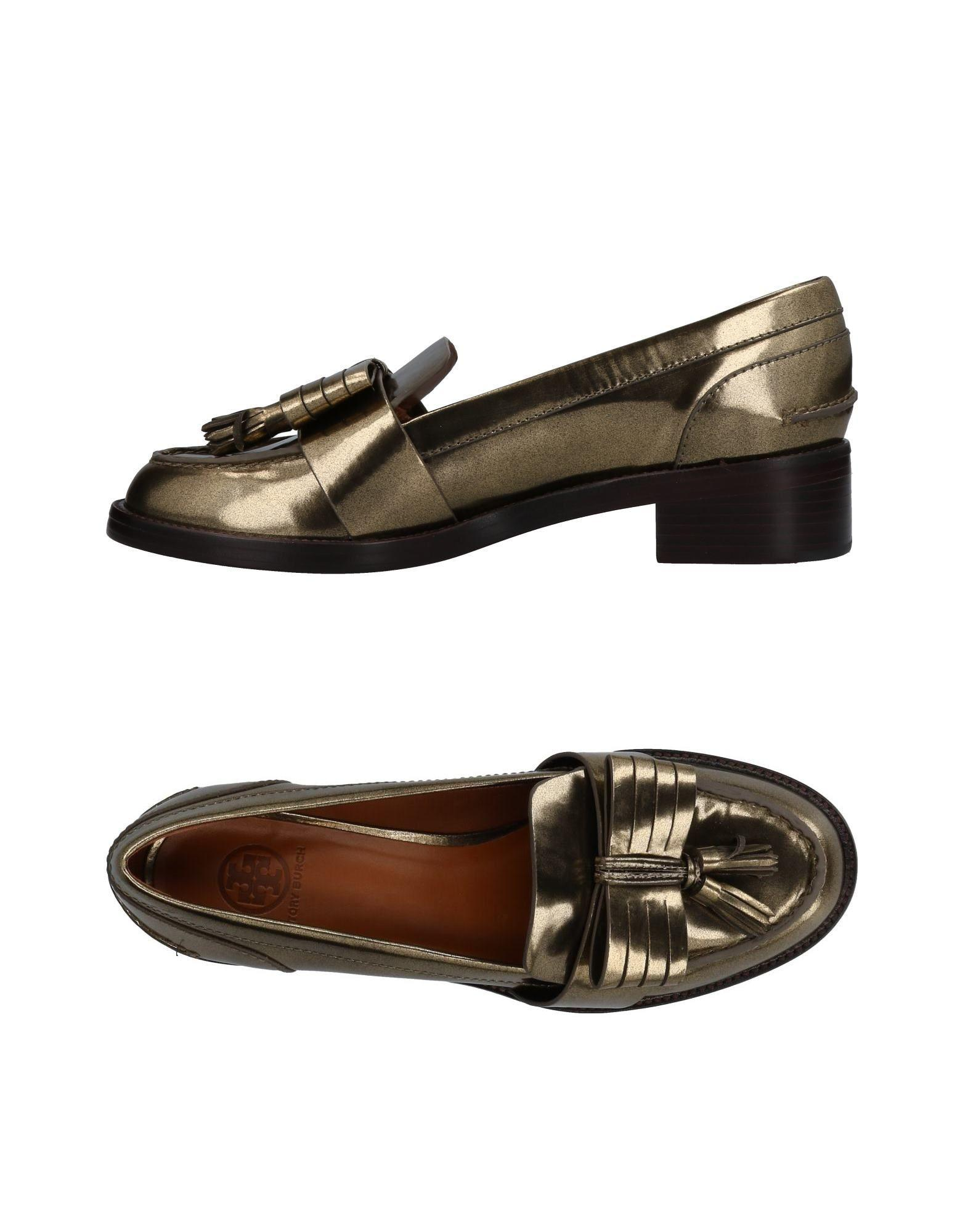 Tory Burch Loafers In Gold