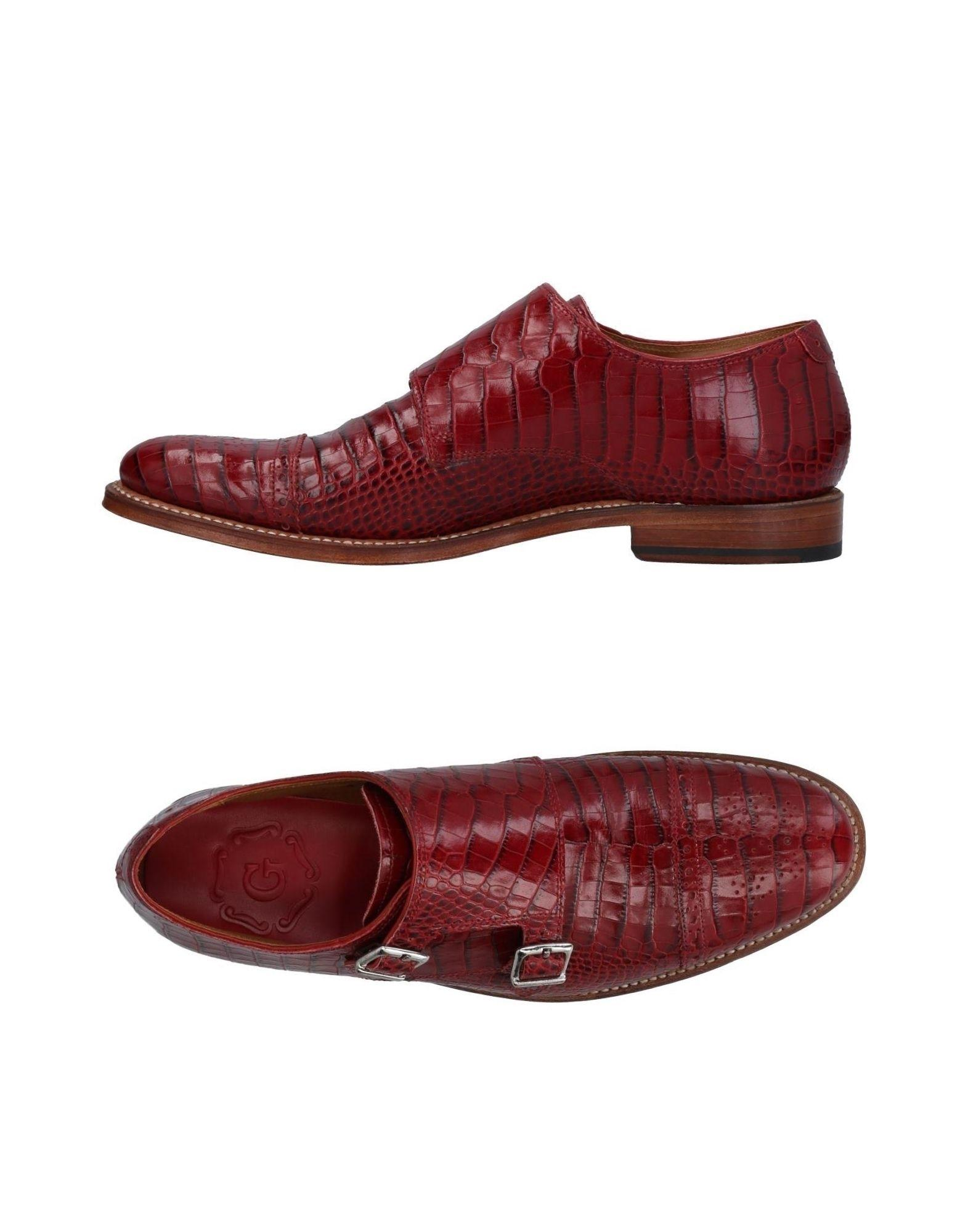Grenson Loafers In Red