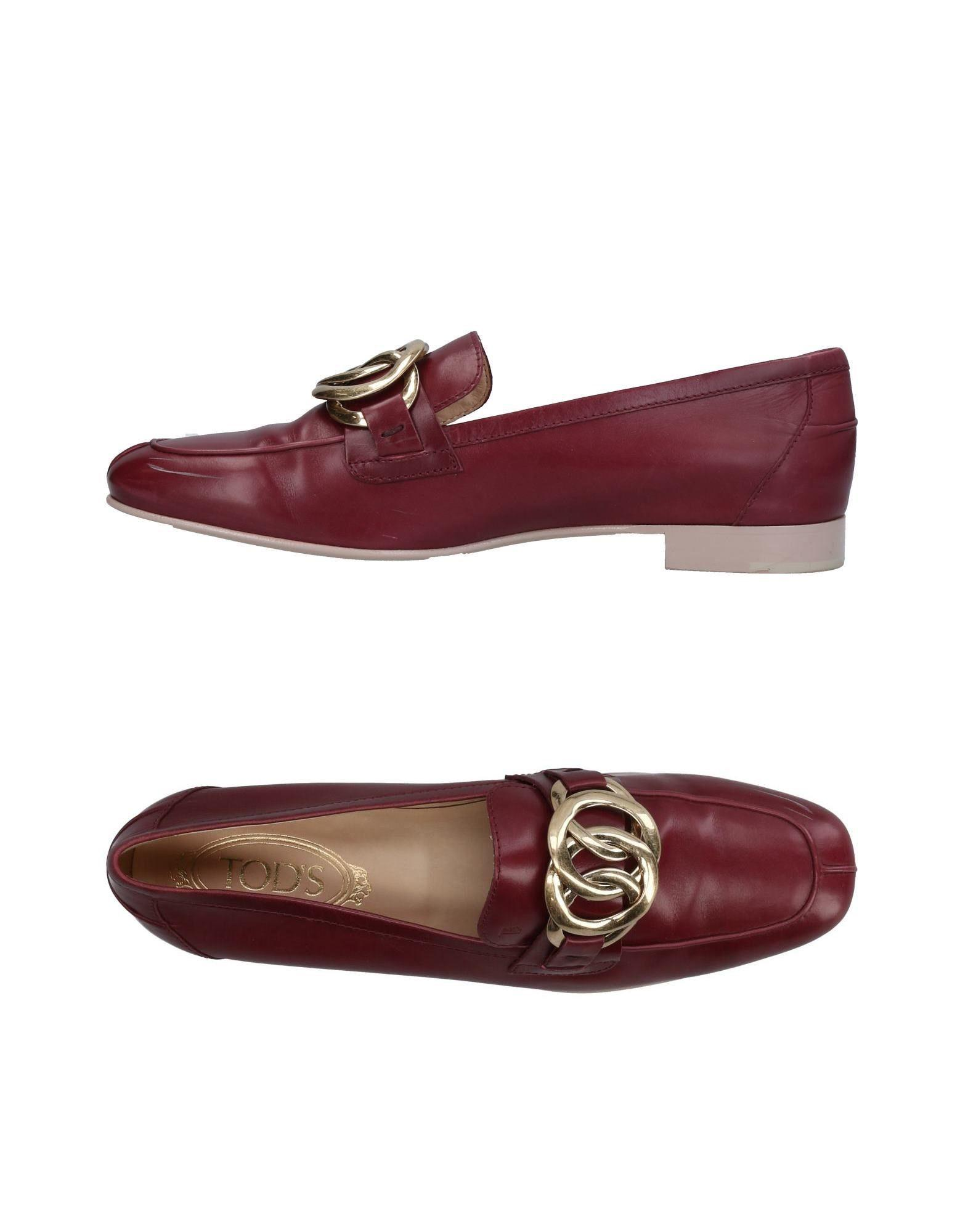 Tod's Loafers In Deep Purple