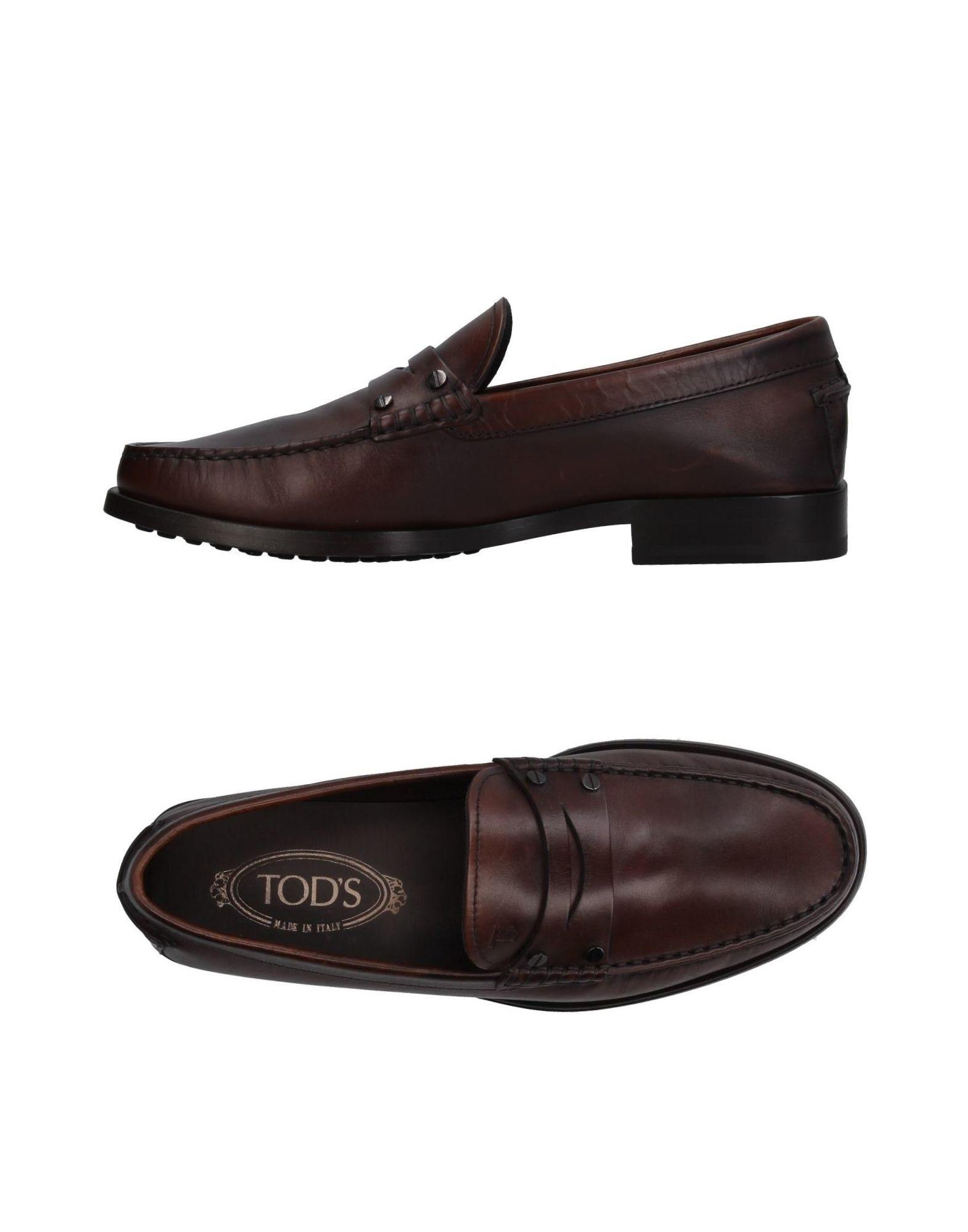 Tod's Loafers In Dark Brown