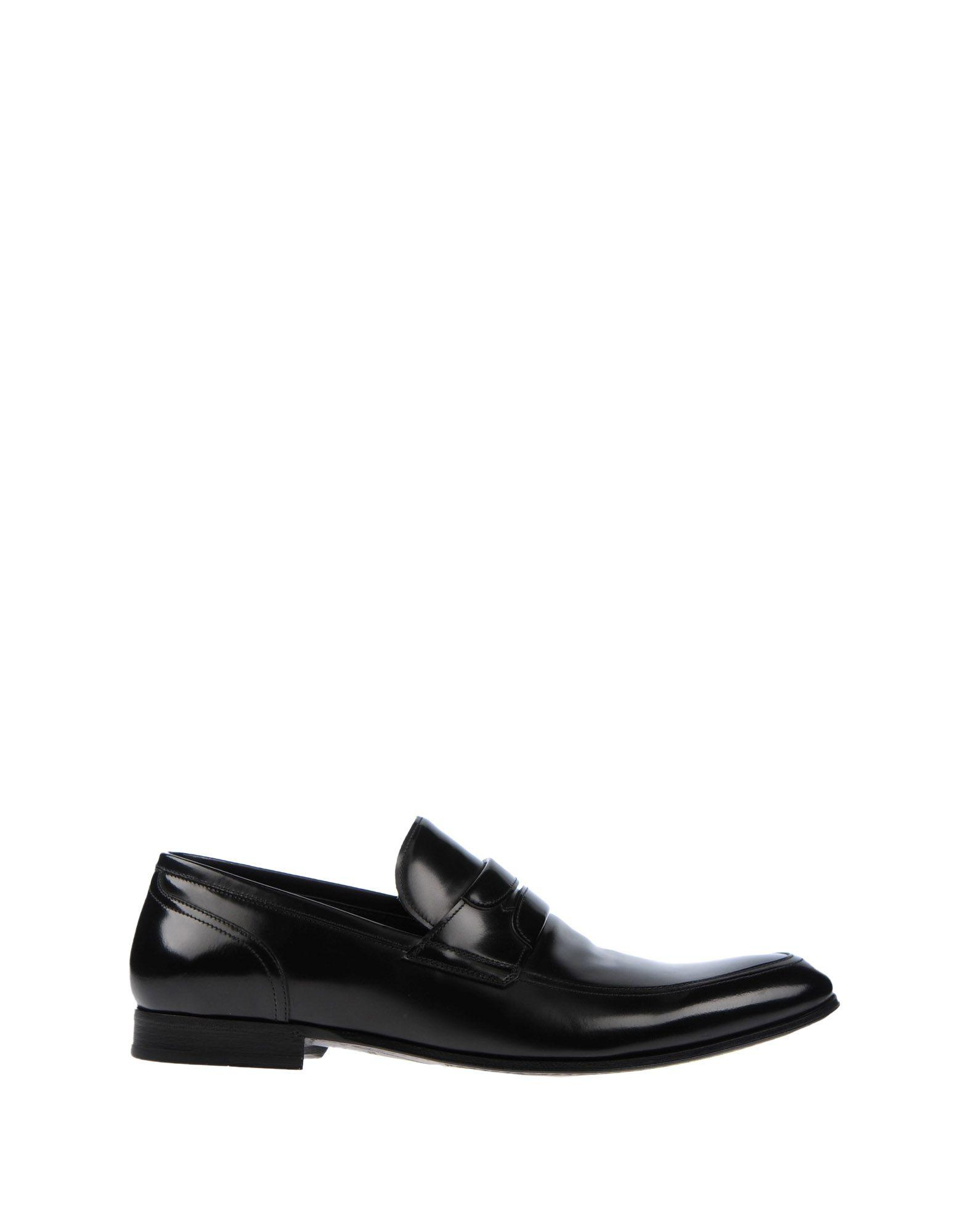 Dolce & Gabbana Loafers In Black