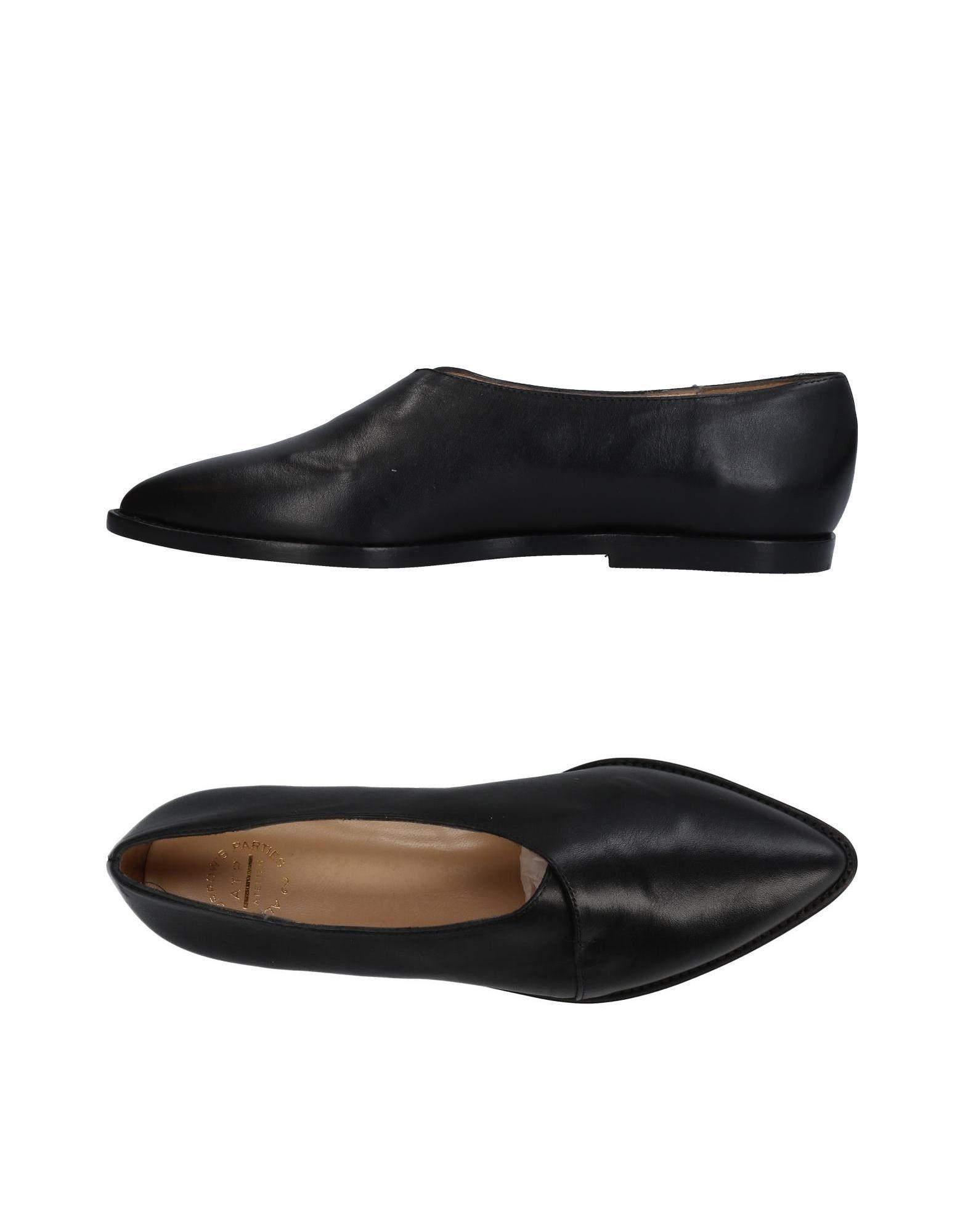 Atp Atelier Loafers In Black