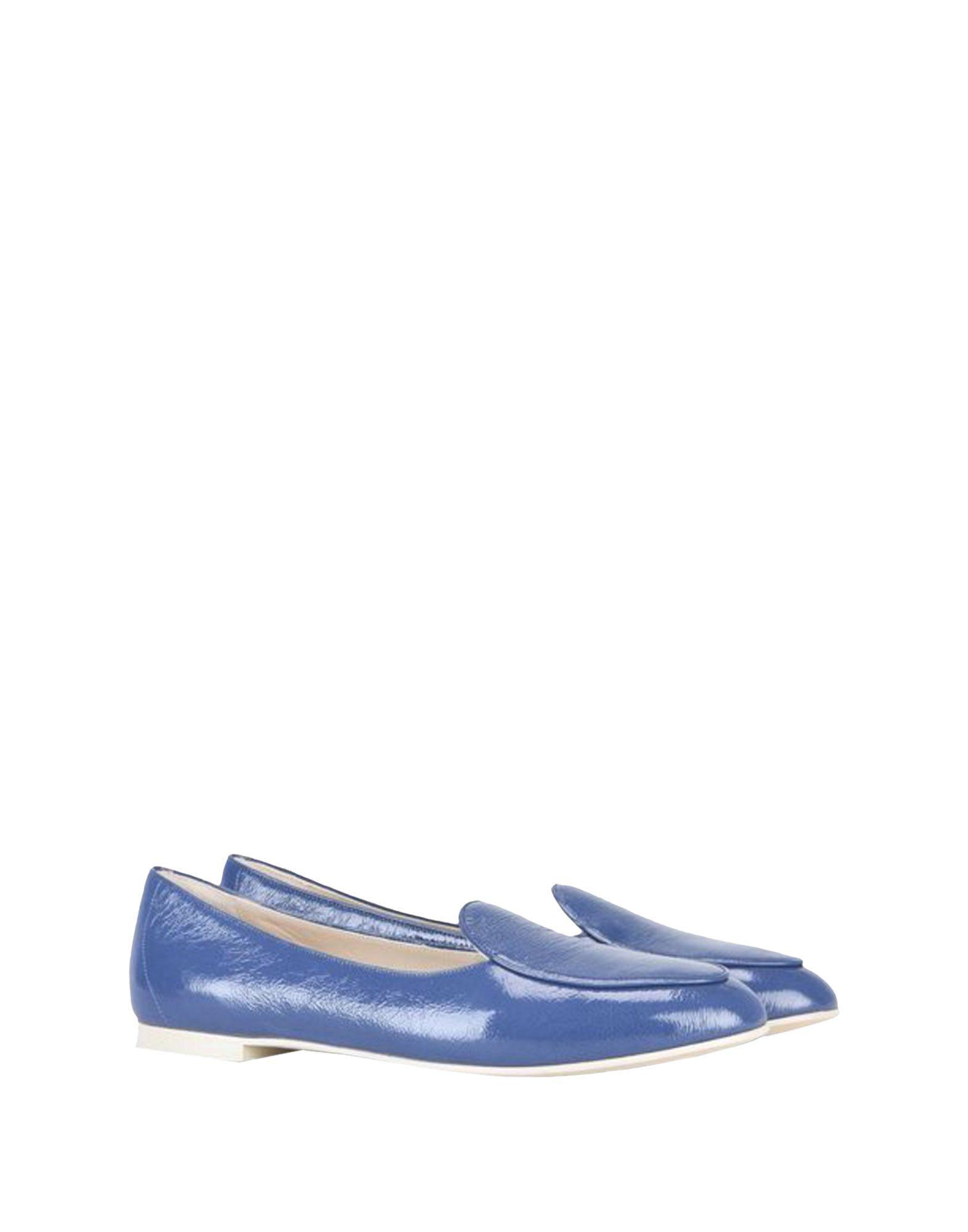 Giorgio Armani Loafers In Blue