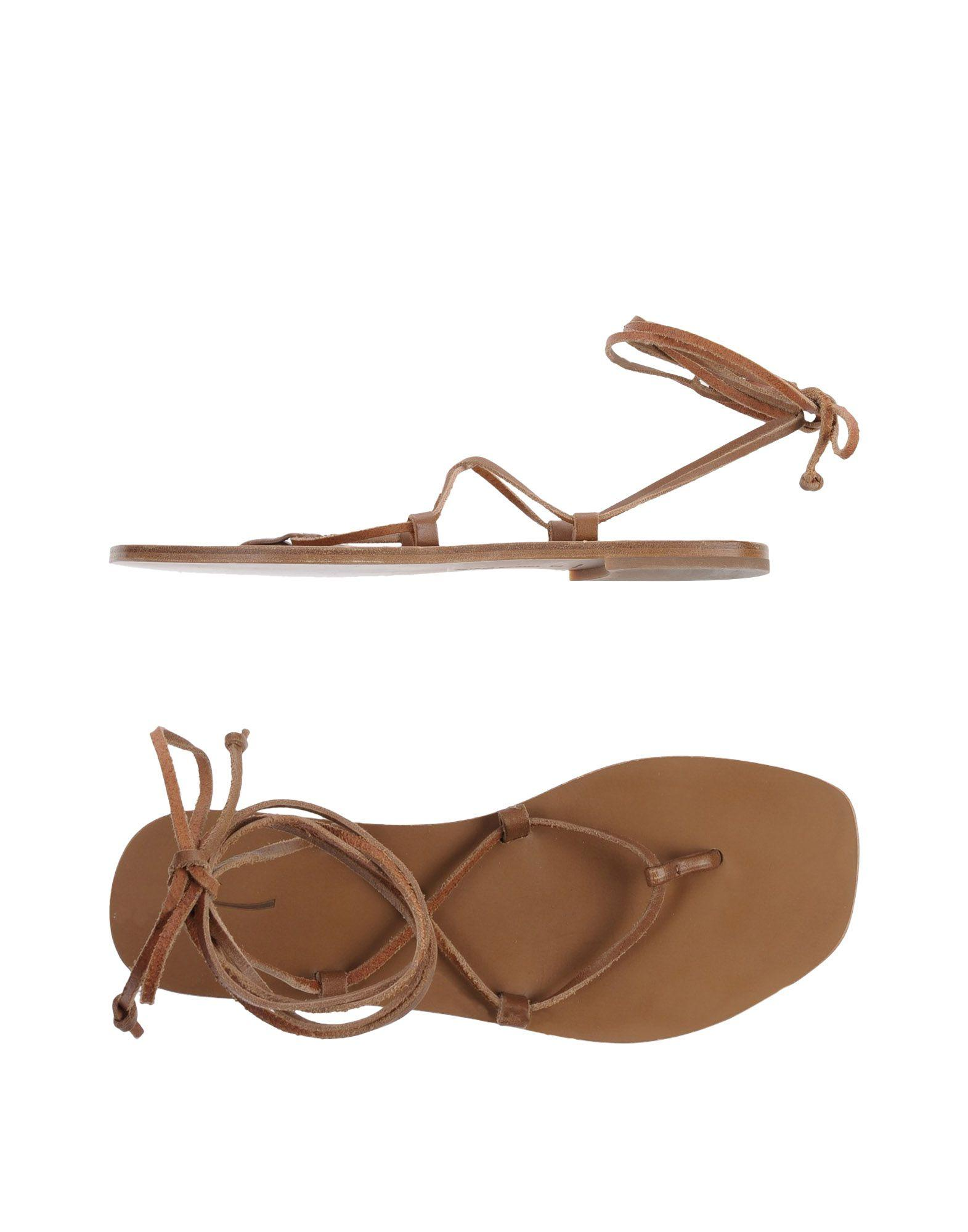 Tomas Maier Flip Flops In Brown