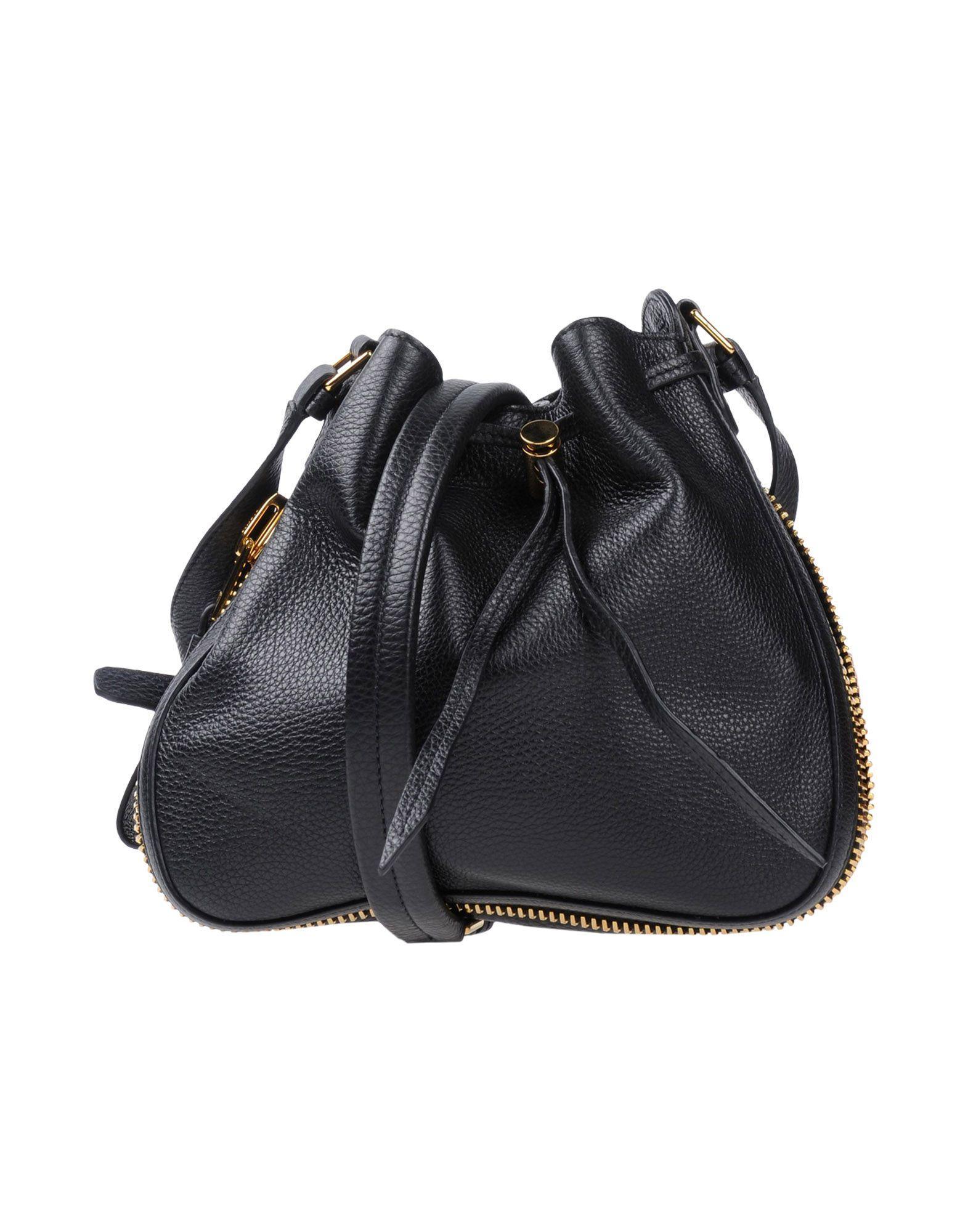 Tom Ford Across-body Bag In Black