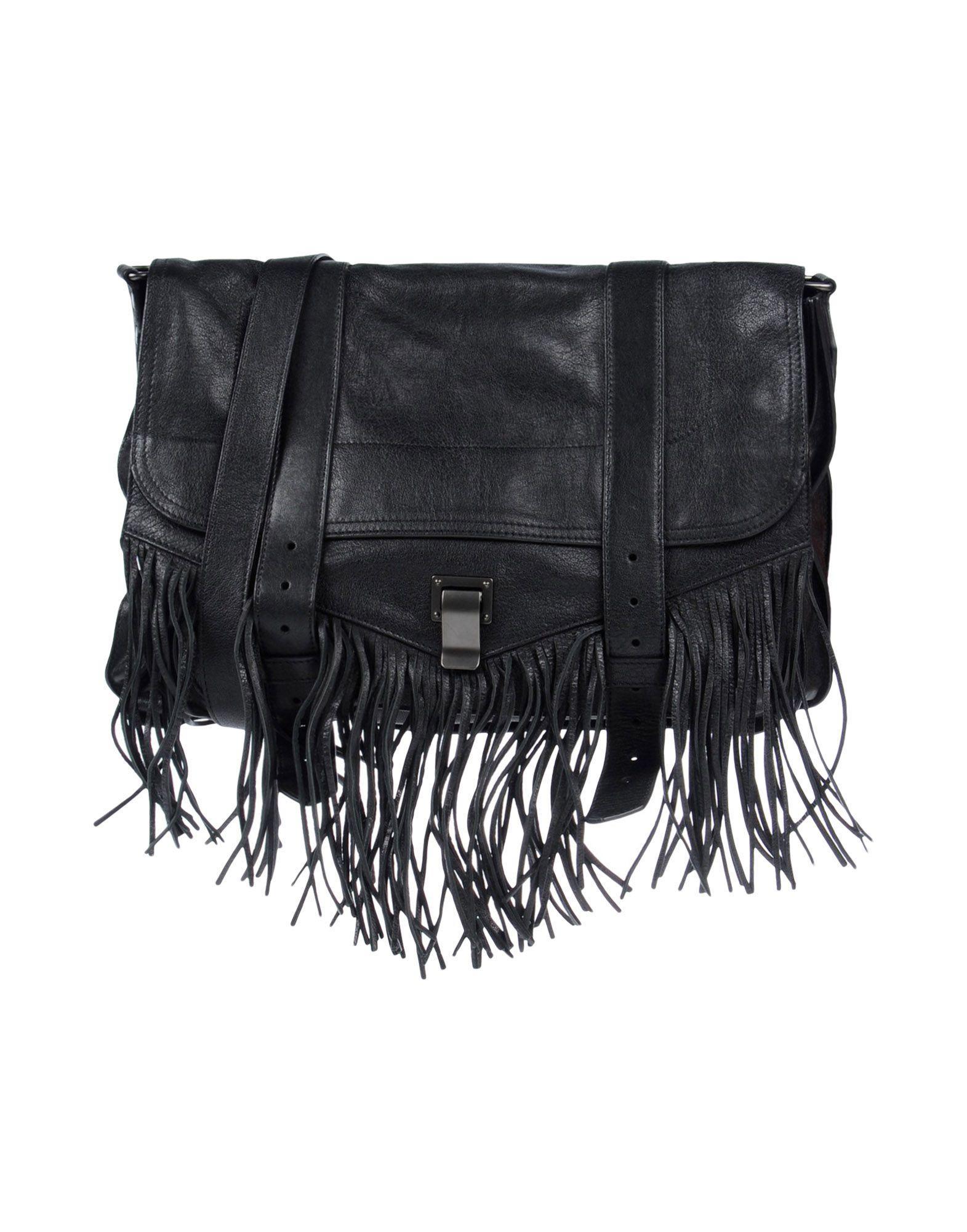 Proenza Schouler Handbag In Black