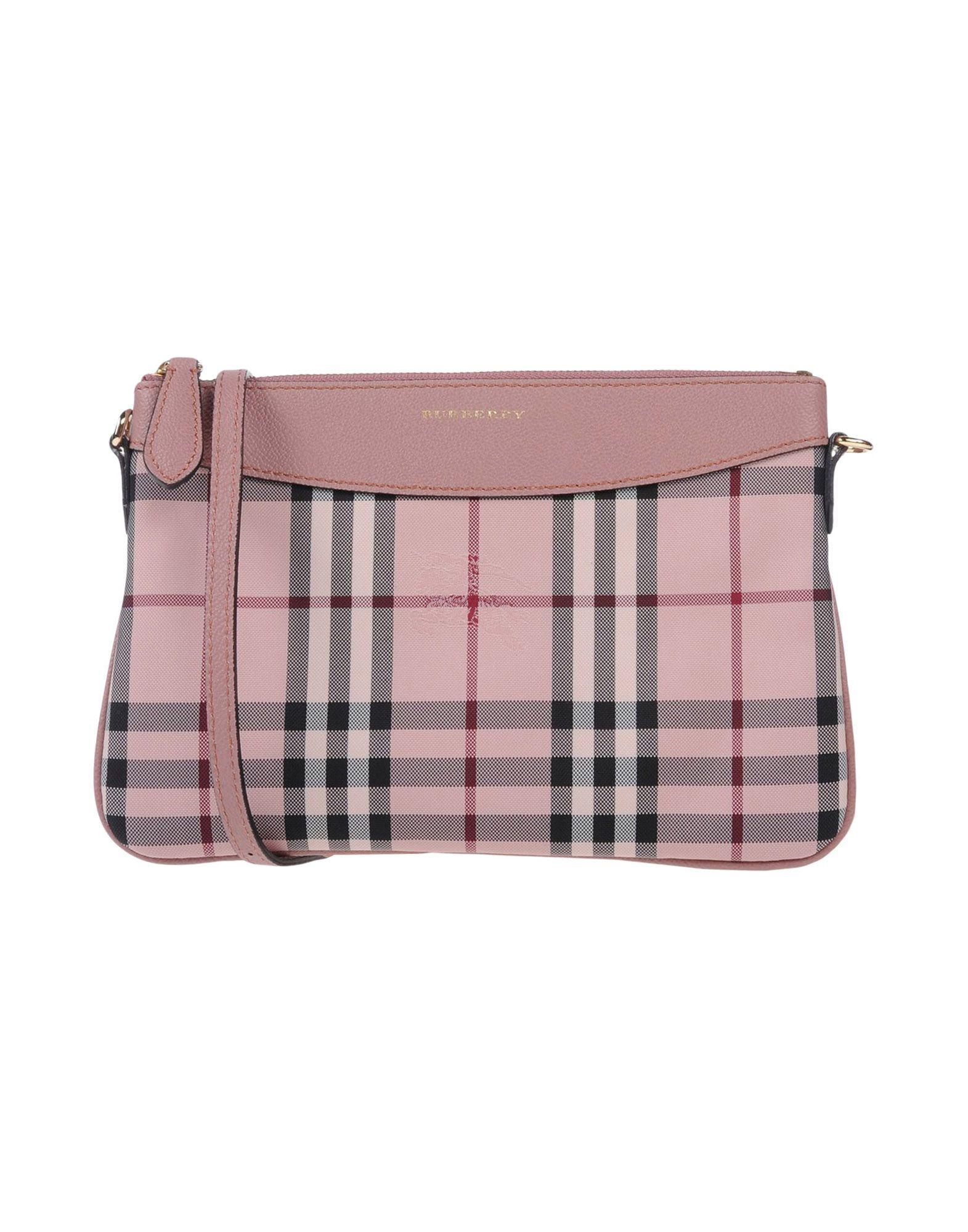 Burberry Handbags In Pastel Pink