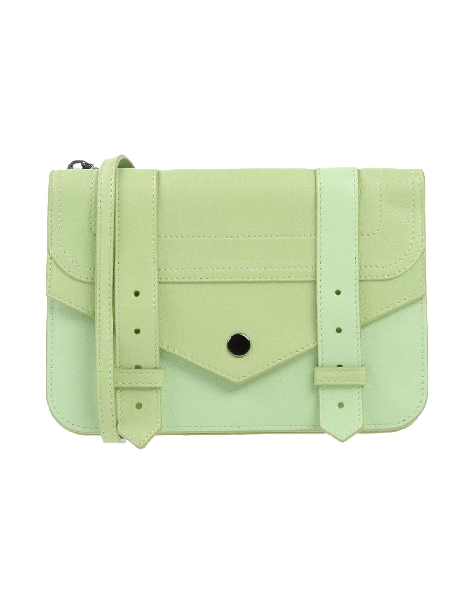 Proenza Schouler Handbags In Acid Green