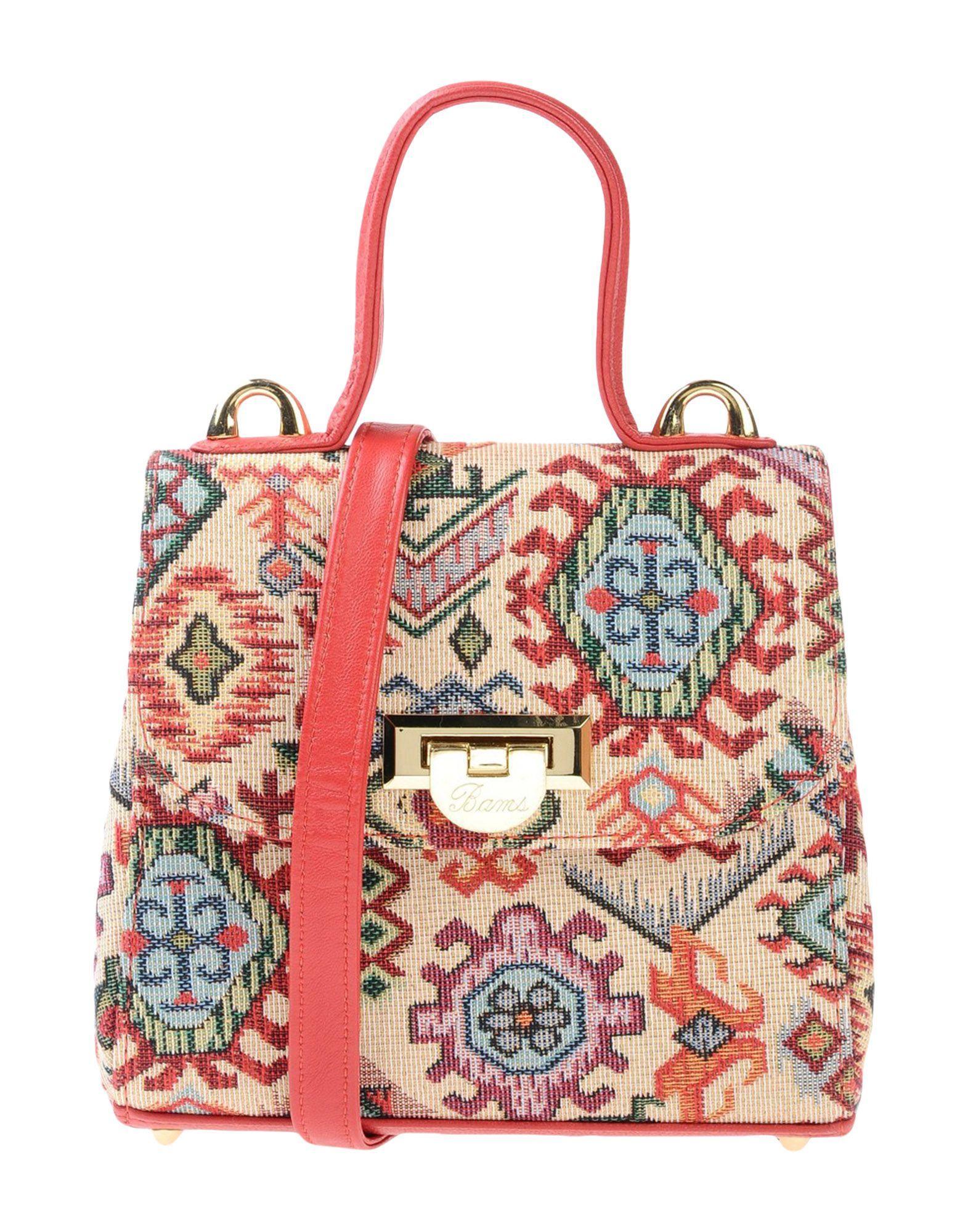 Bams Handbags In Beige
