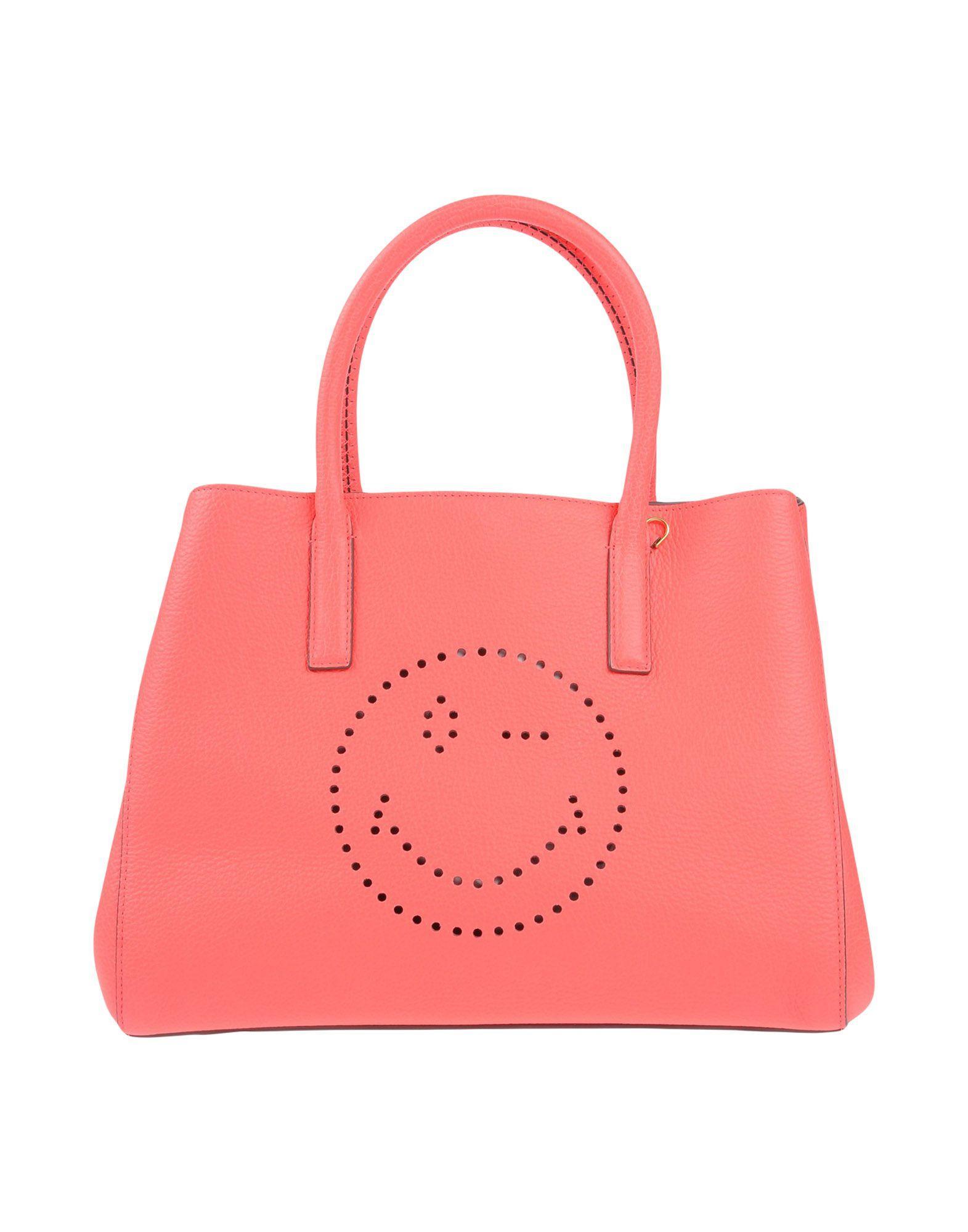 Anya Hindmarch Handbag In Coral