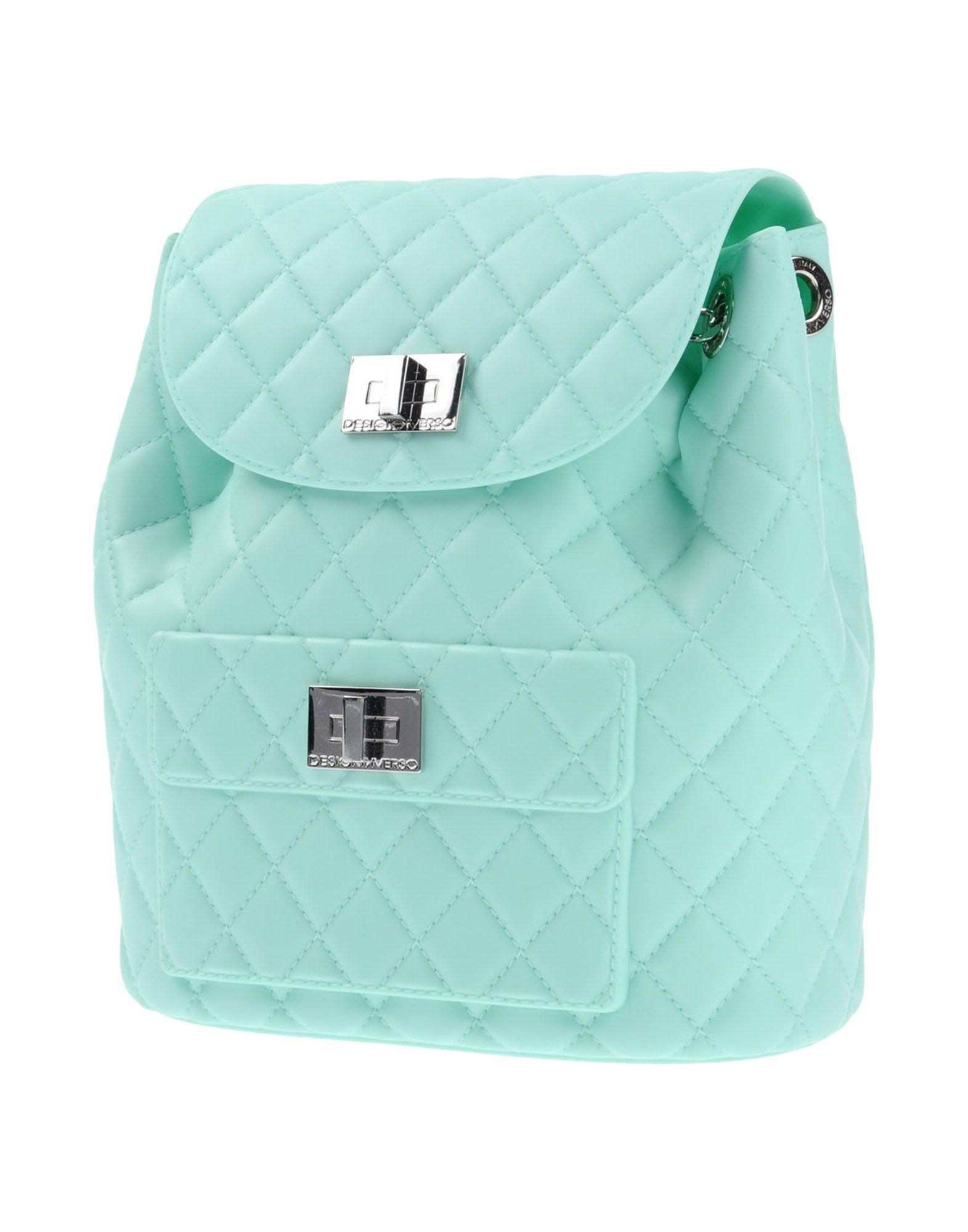 Designinverso Backpack & Fanny Pack In Light Green