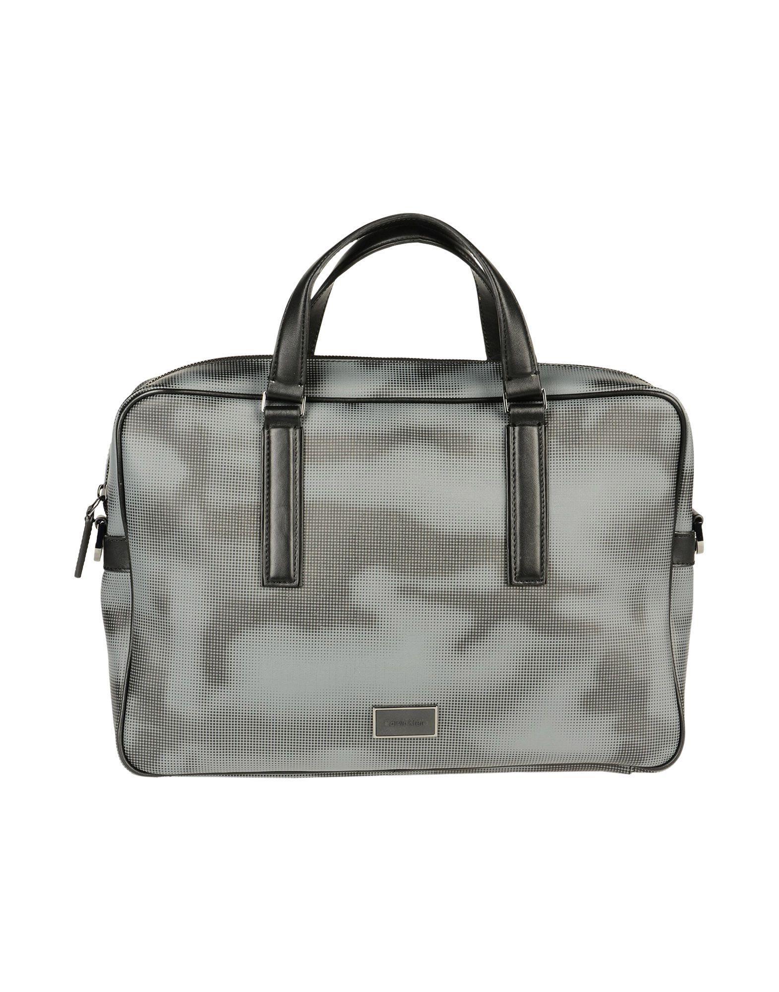 Calvin Klein Work Bags In Lead