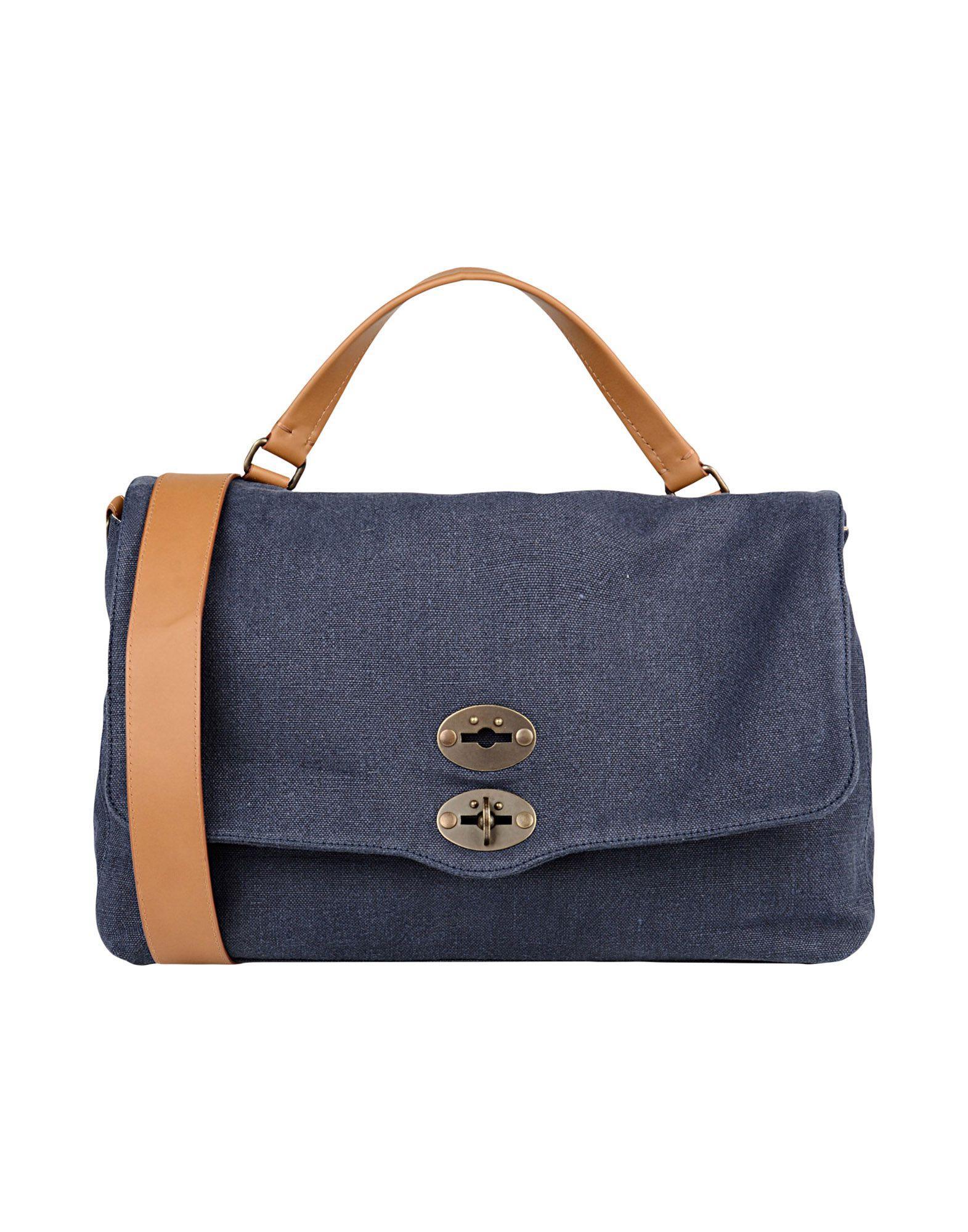 Zanellato Work Bags In Dark Blue
