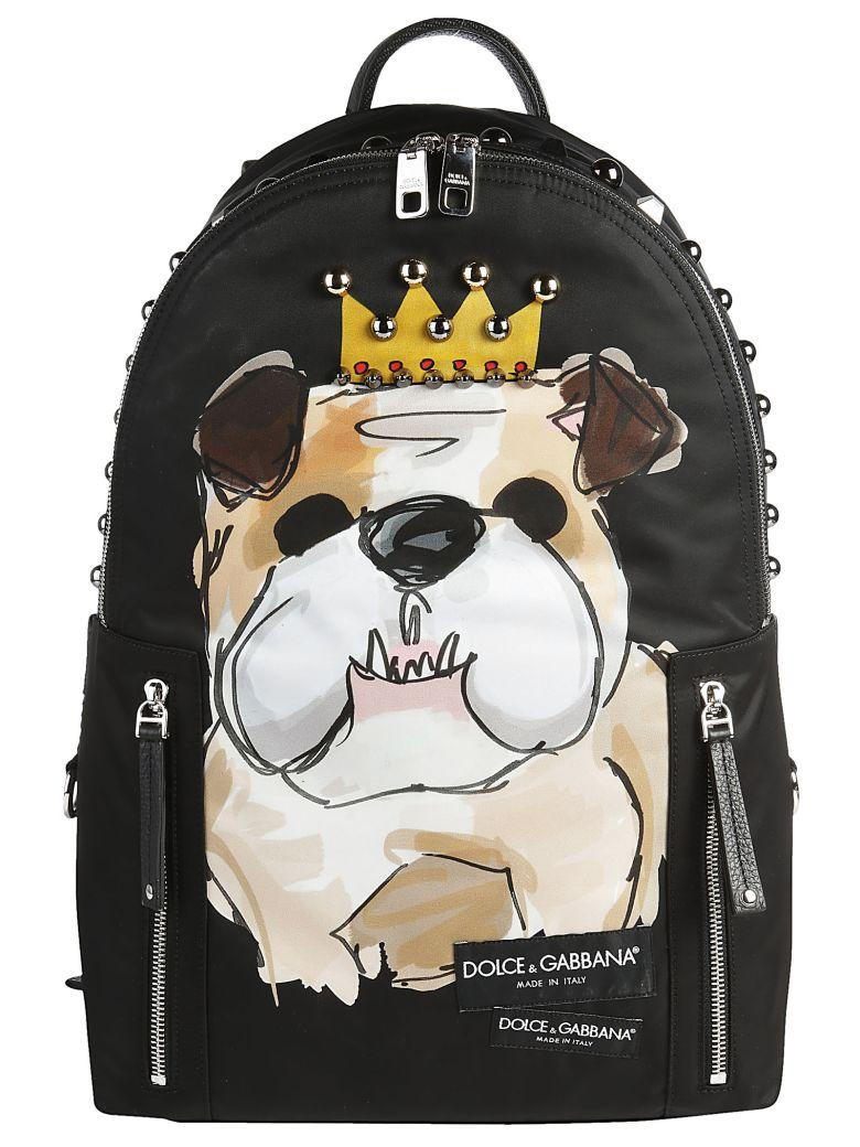 Dolce & Gabbana Backpack In Nero